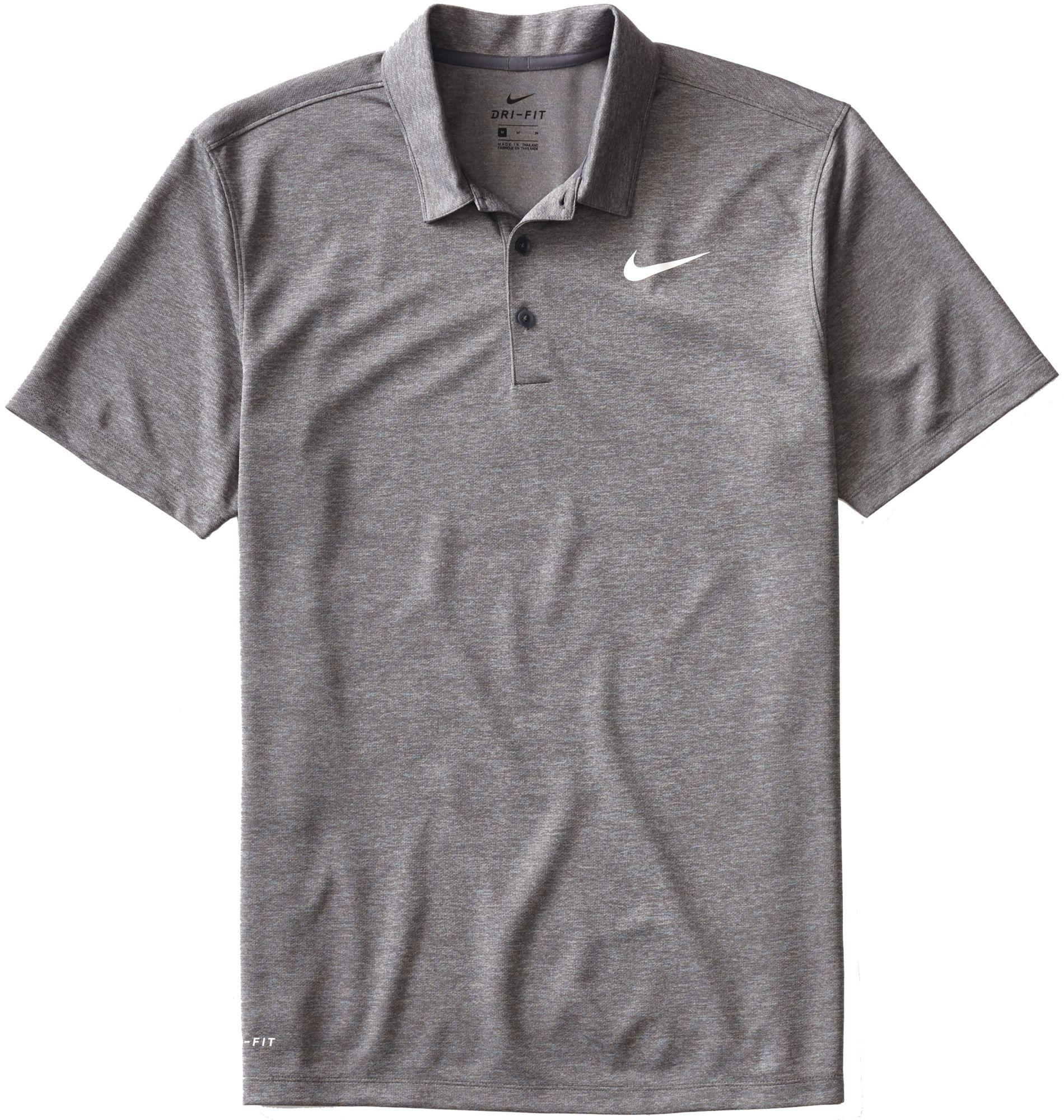 3c6c09b2 Lyst - Nike Heather Dry Golf Polo in Gray for Men
