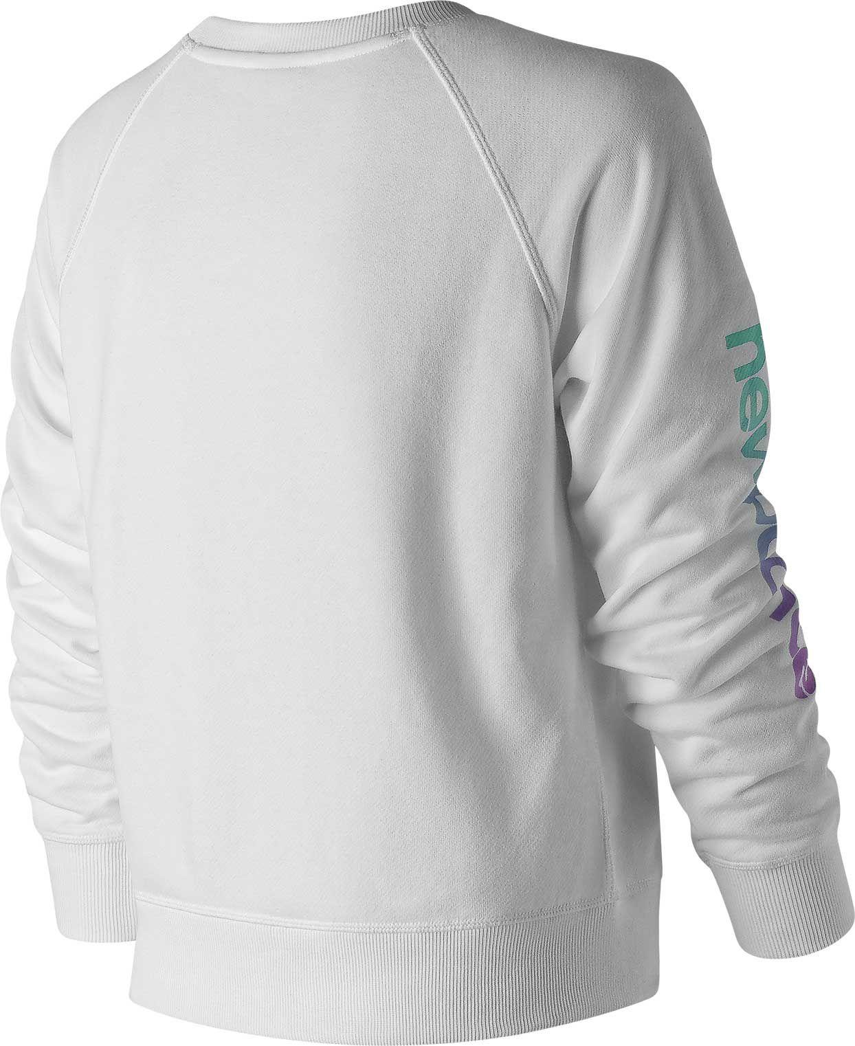 f7ade583 Lyst - New Balance Essentials 90s Crew in White