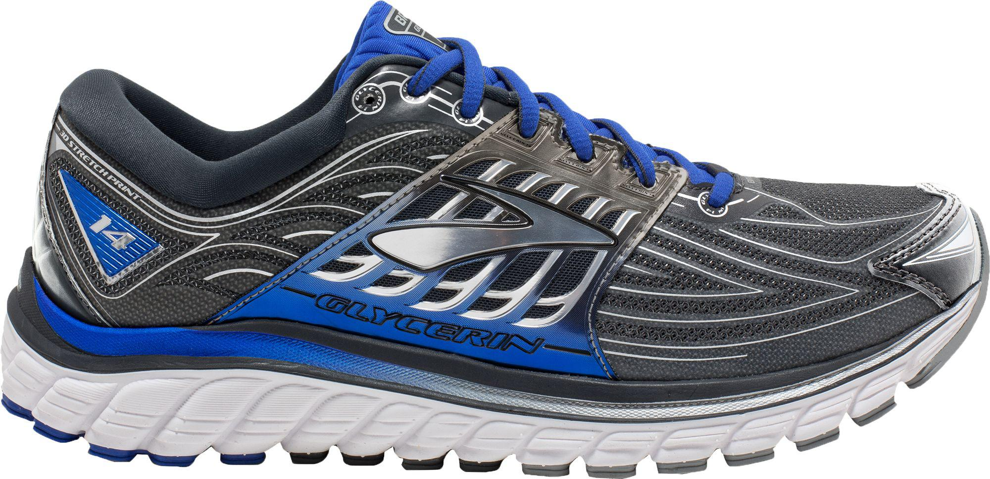f9c853aa2a2f4 Lyst - Brooks Glycerin 14 Running Shoes in Gray for Men