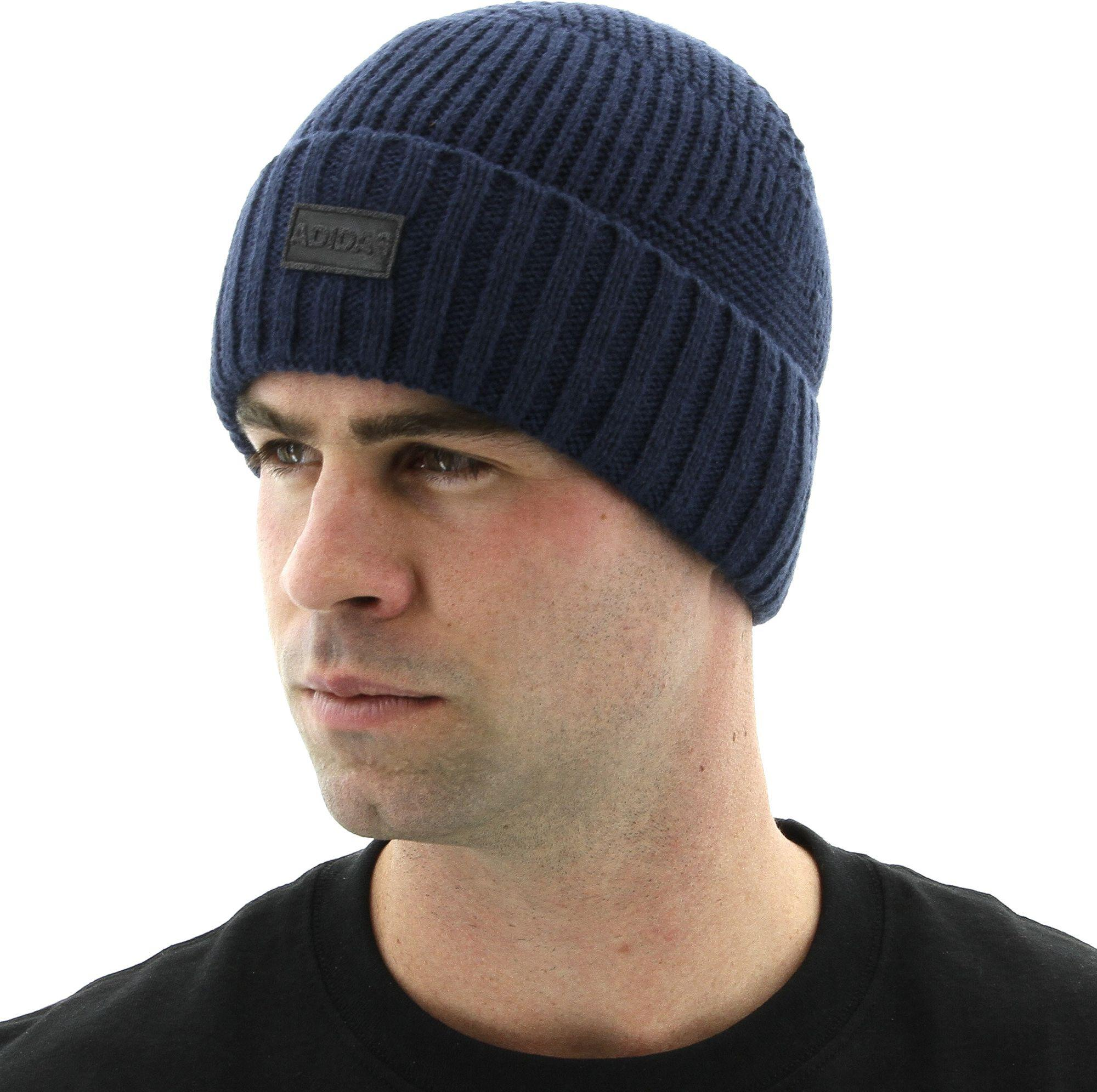 Lyst - adidas Pine Knot Beanie in Blue for Men 4103dd95e42