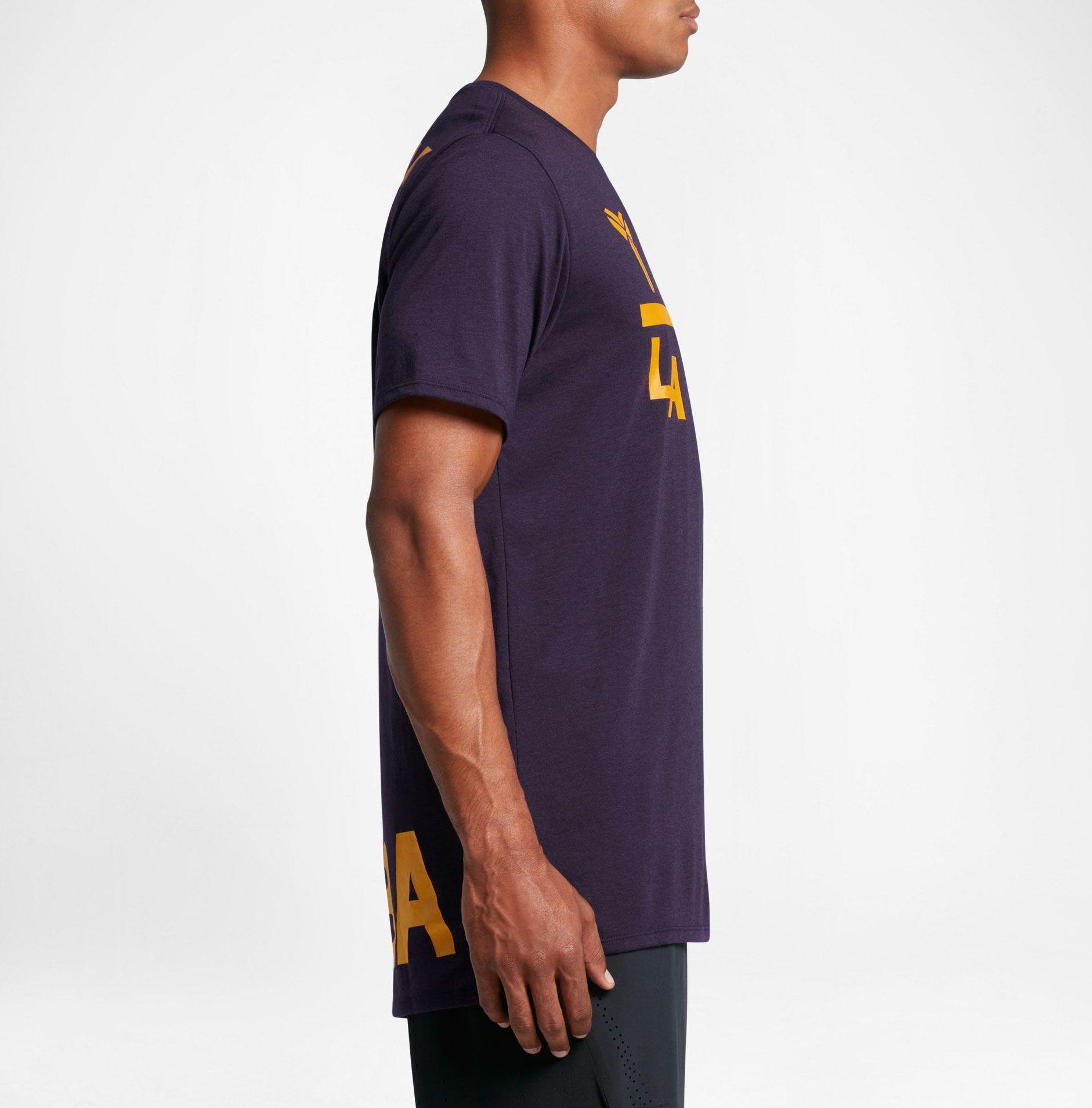 Kobe Art Droptail Graphic Basketball T shirt