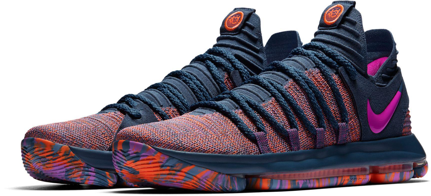 super popular dde88 30a6b Men's Blue Zoom Kd 10 Lmtd Basketball Shoes