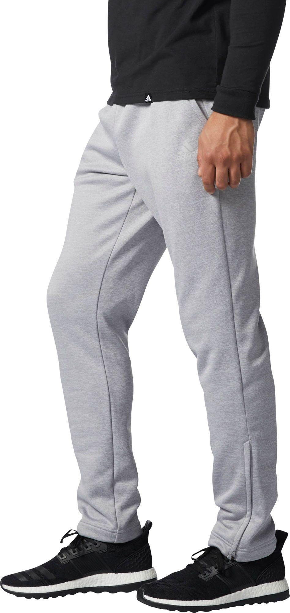 26e740fc16a7 Adidas Gray Athletics Team Issue Fleece Tapered Pants for men