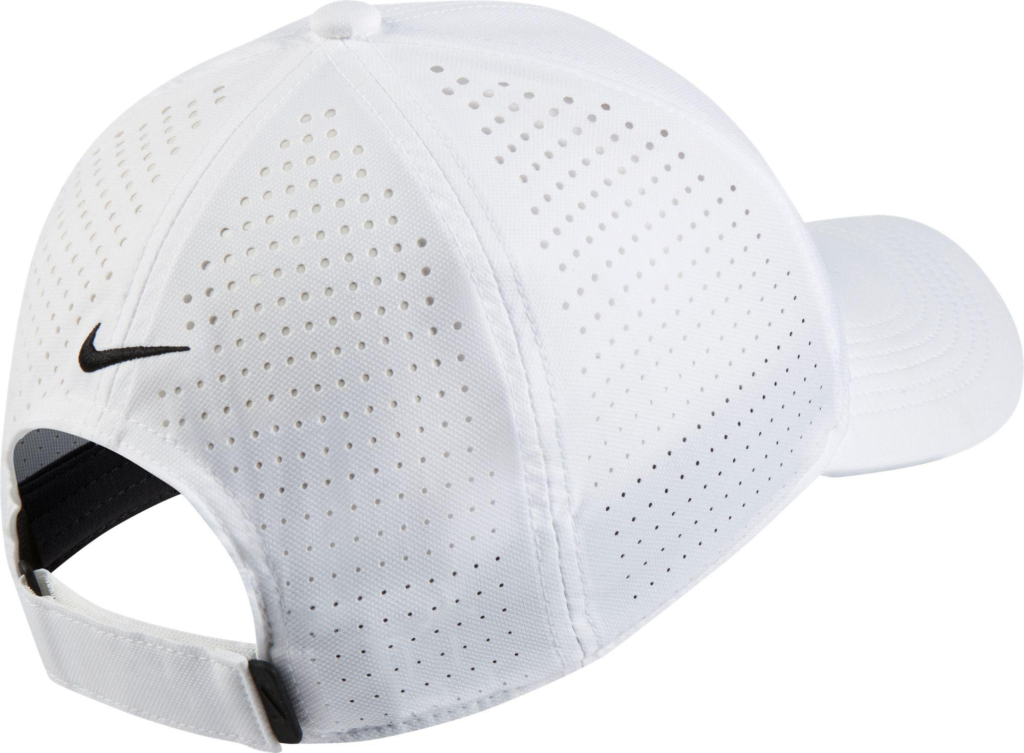 Nike - White Aerobill Legacy91 Perforated Golf Hat for Men - Lyst. View  fullscreen 8bb748b9262