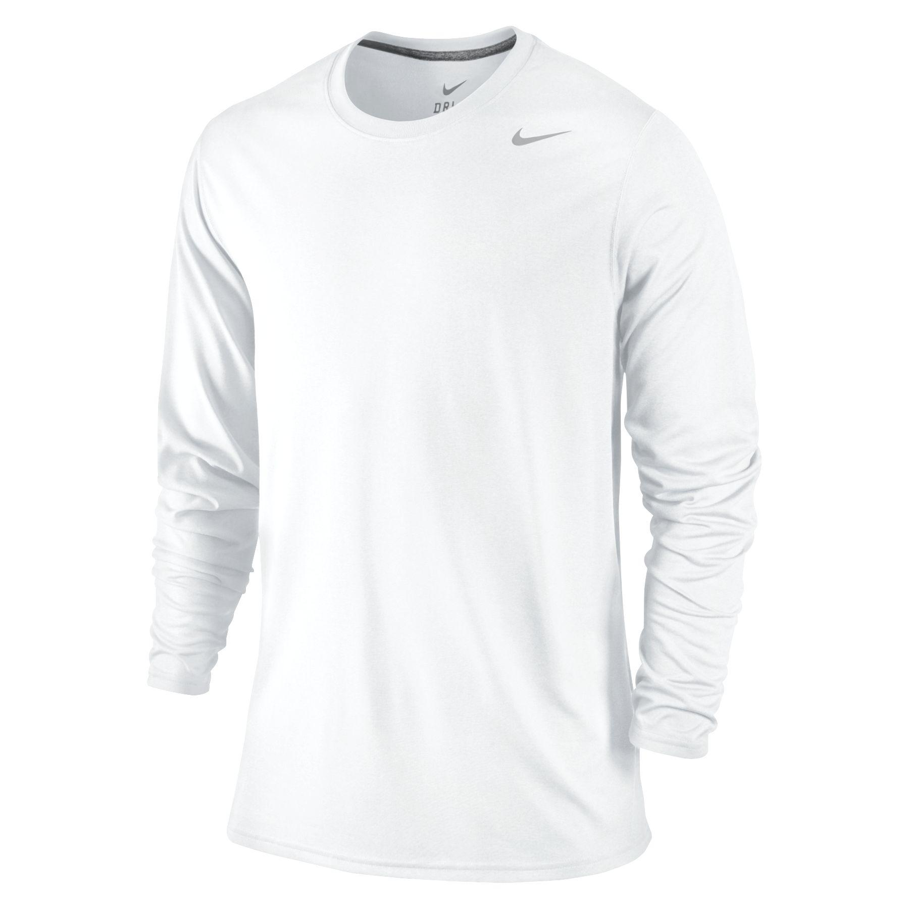 1d2f8a2d Lyst - Nike Long Sleeve Legend T-shirt in White for Men