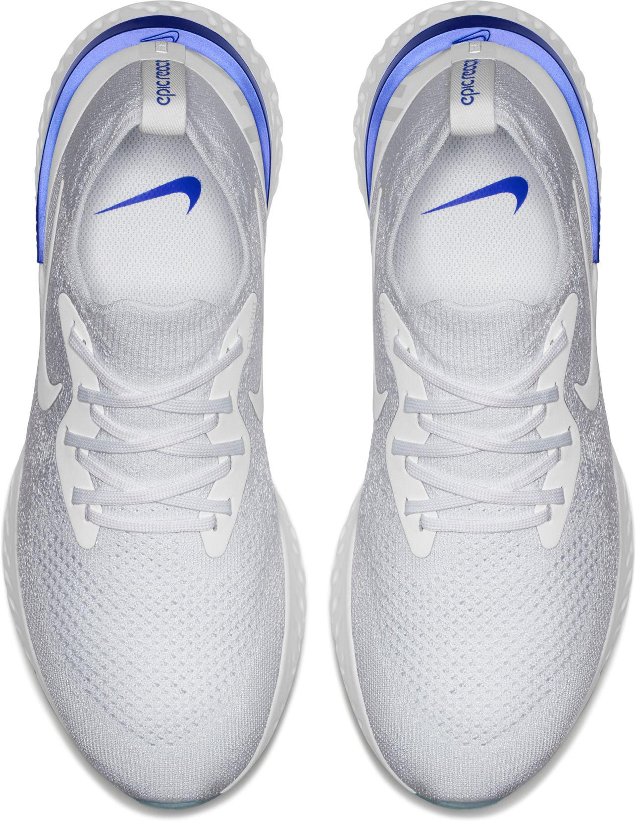 24060ca93f68 Lyst - Nike Epic React Flyknit Running Shoes in White for Men