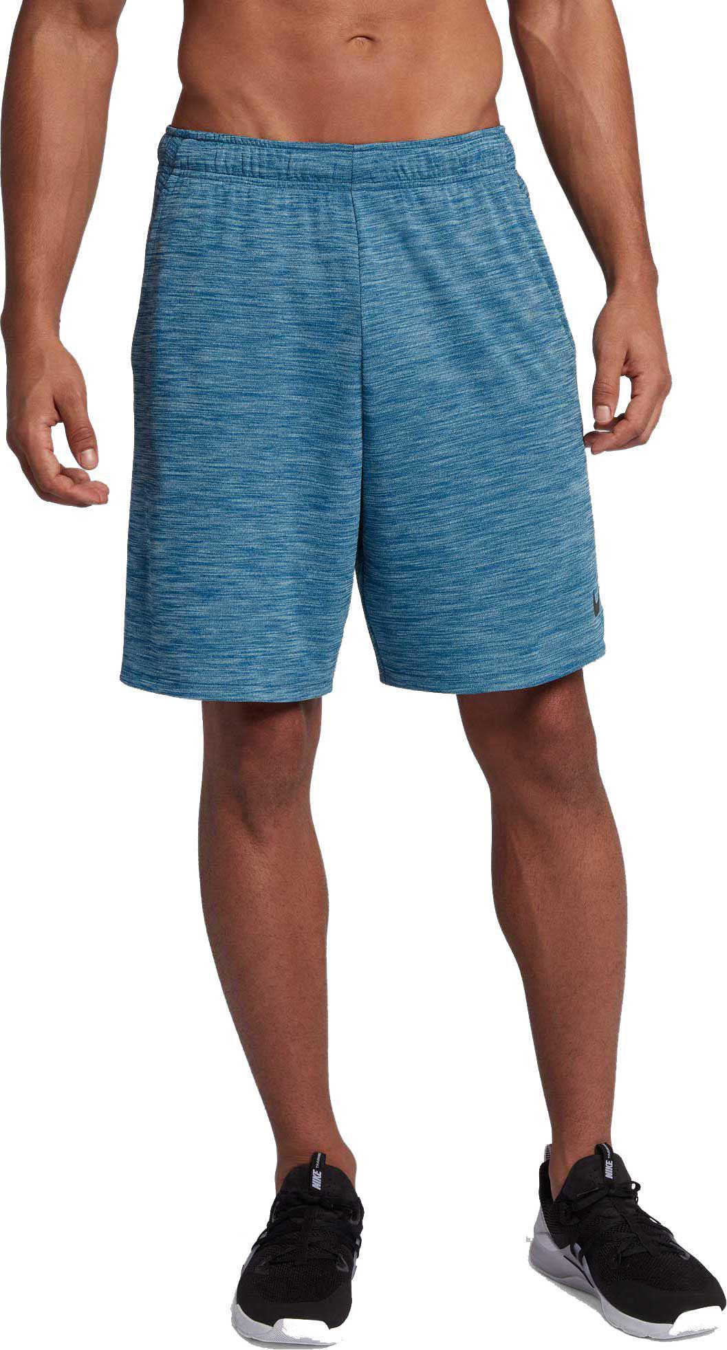 e68c439f232f8 Nike Blue Dry Veneer Training Shorts for men