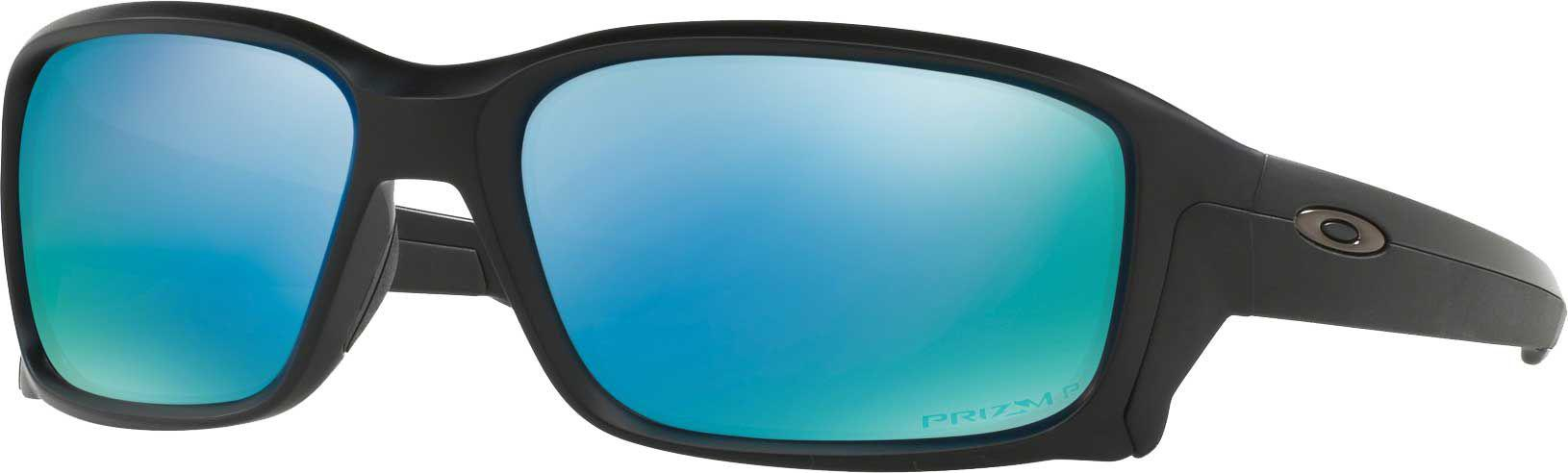 44a11b6563 Lyst - Oakley Straightlink Prizm Polarized Sunglasses in Blue for Men