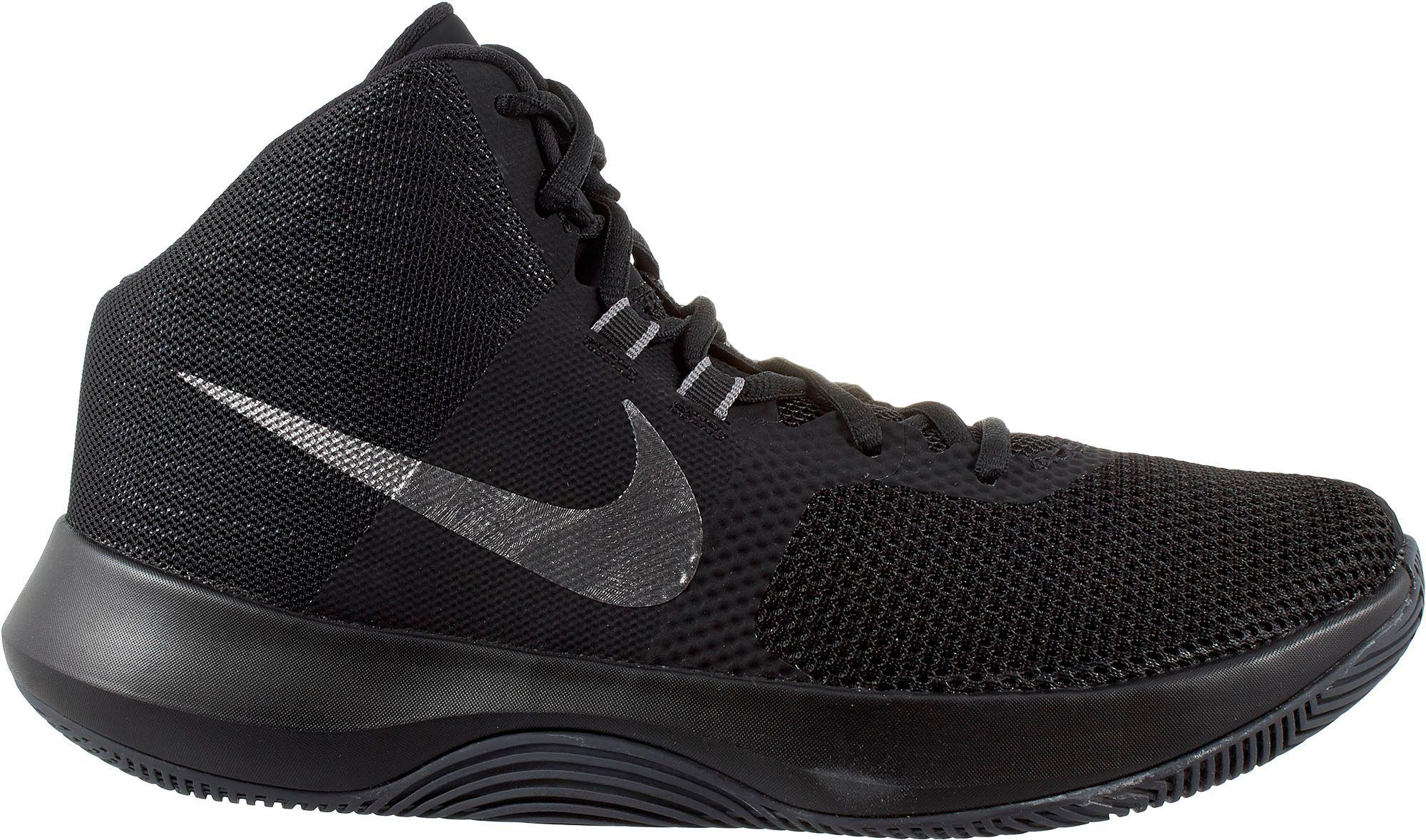 watch e3d74 e56f7 Nike - Black Air Precision Basketball Shoes for Men - Lyst