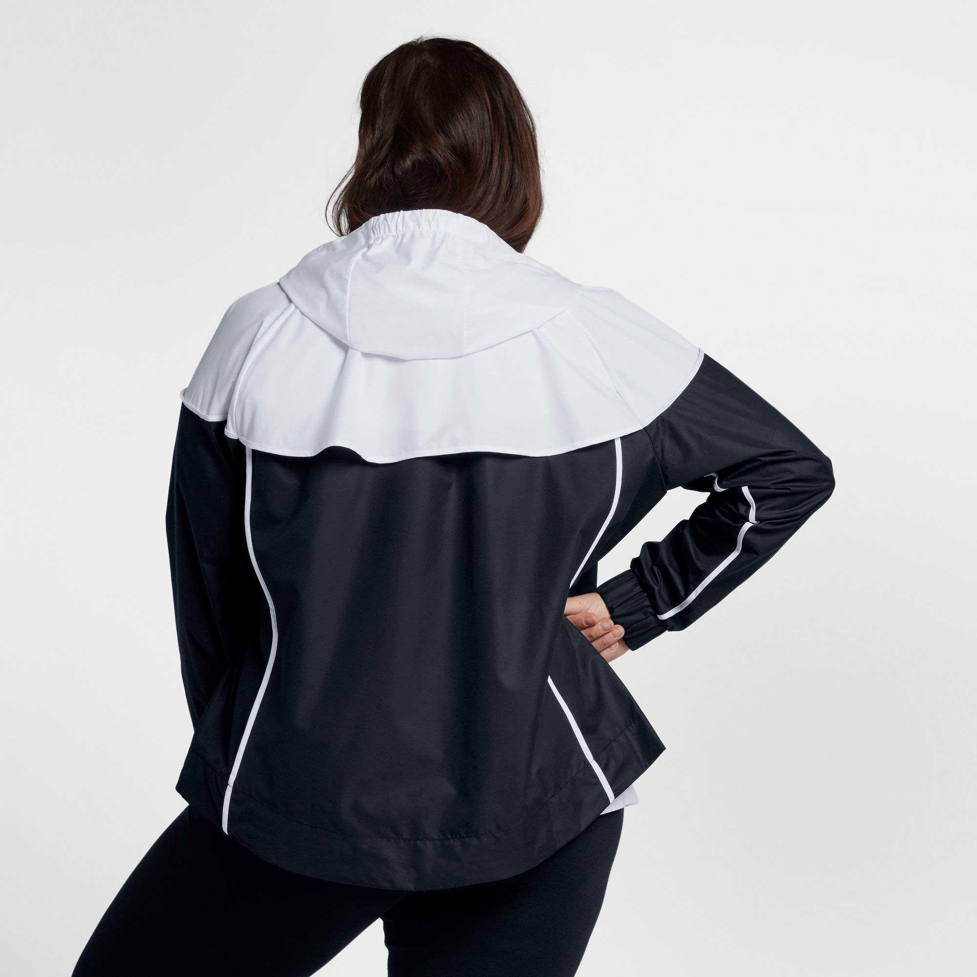 Nike - Black Plus Size Sportswear Windrunner Jacket - Lyst. View fullscreen 1354366cf