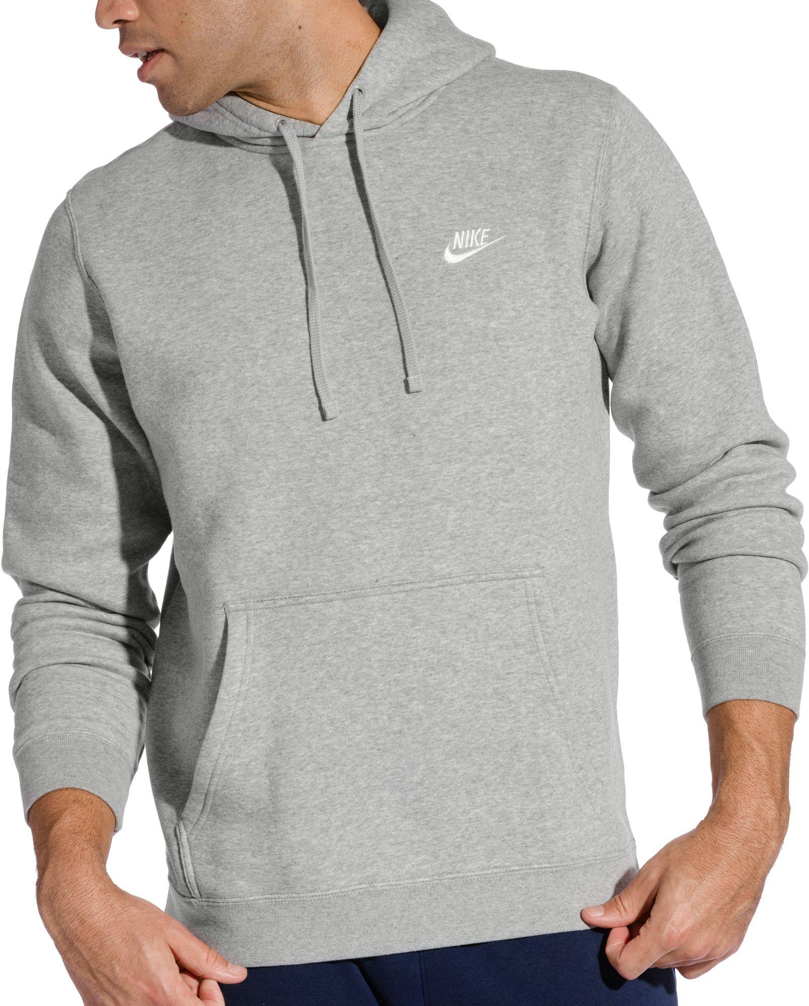 nike fleece overhead hoodie