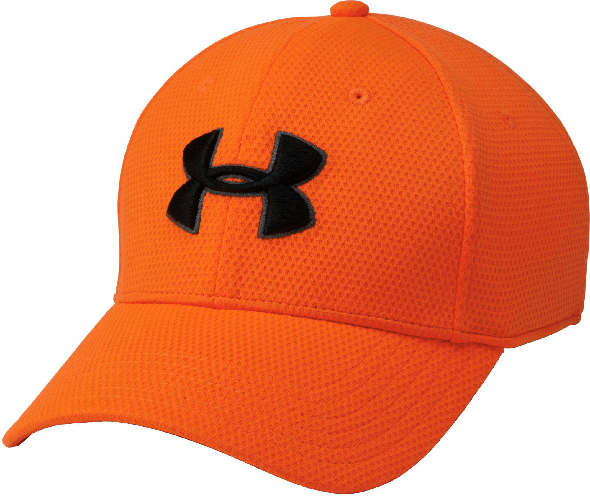 486fc7fee3983 ... coupon code under armour orange litzing stretch fit hat ii for men lyst  bf9b3 59950