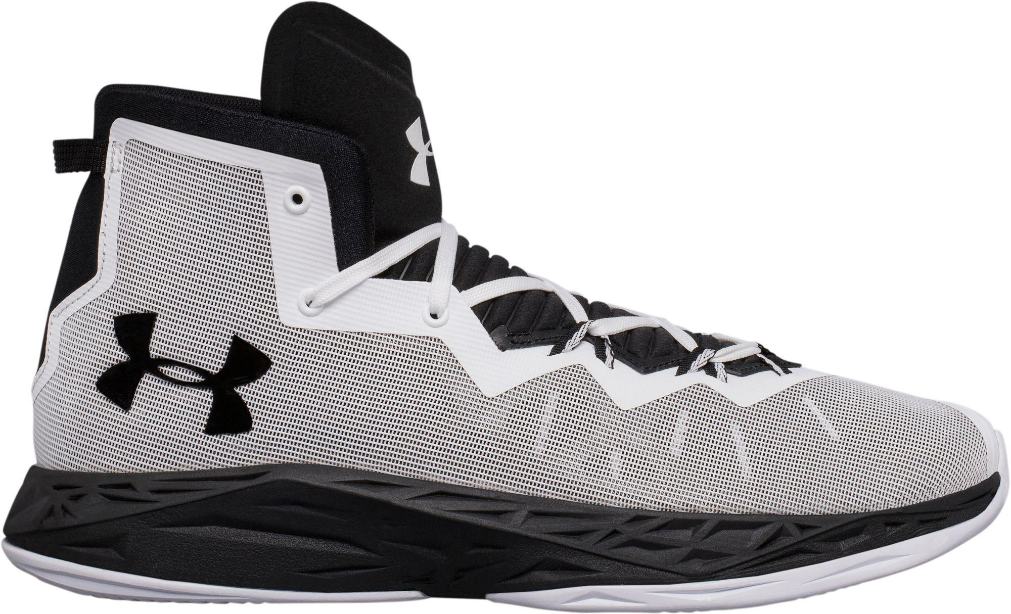 Under Armour Black Lightning 4 Basketball Shoes For Men