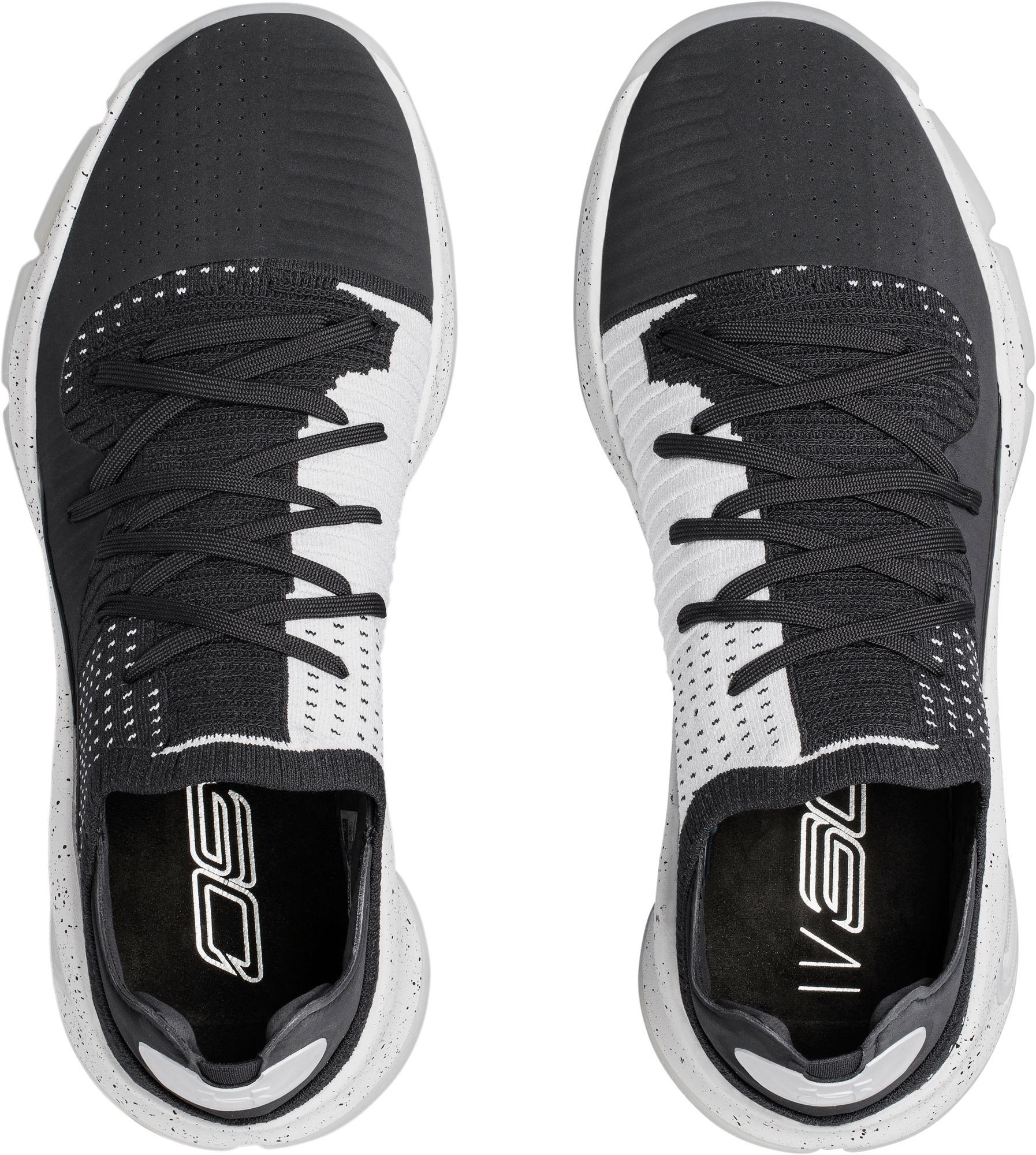 low priced 646e5 36bc8 Under Armour - Gray Curry 4 Low Basketball Shoes for Men - Lyst