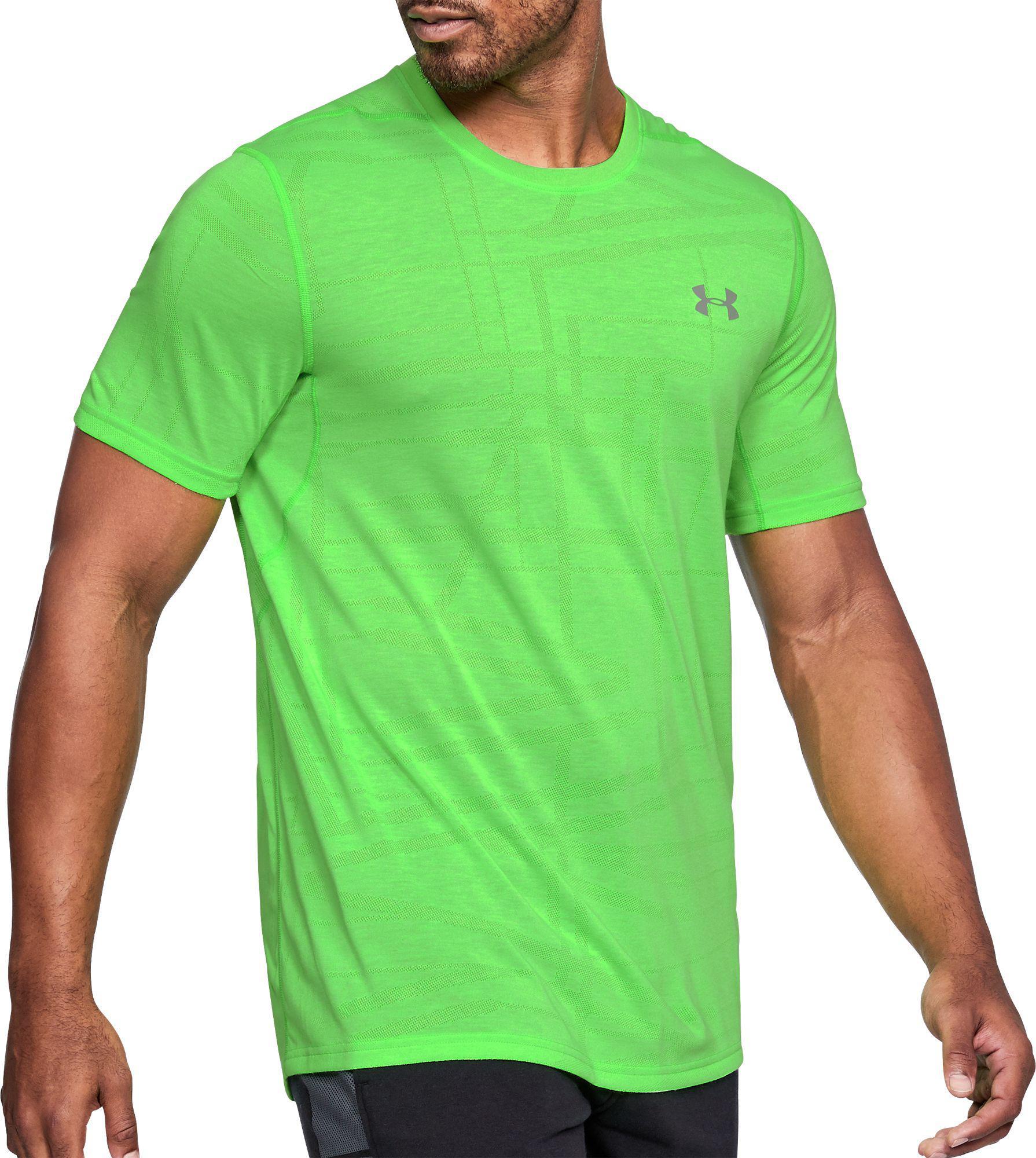 a280184f Under Armour Threadborne Siro Elite T-shirt in Green for Men - Lyst