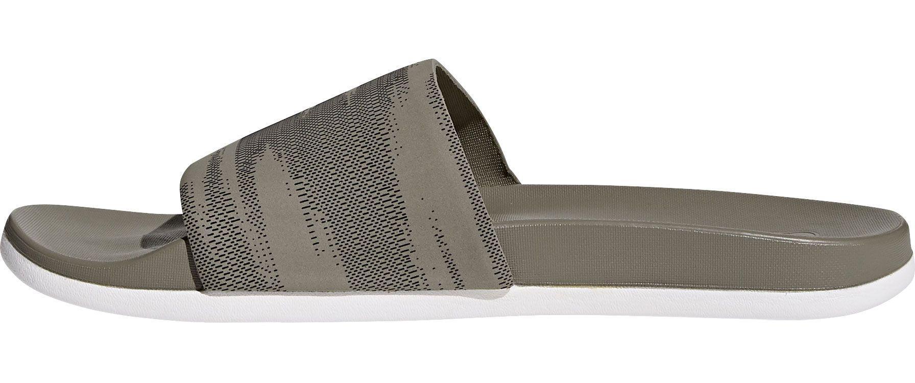 san francisco 55e44 73cf8 Lyst - adidas Adilette Cloudfoam Plus Slides in Black for Me