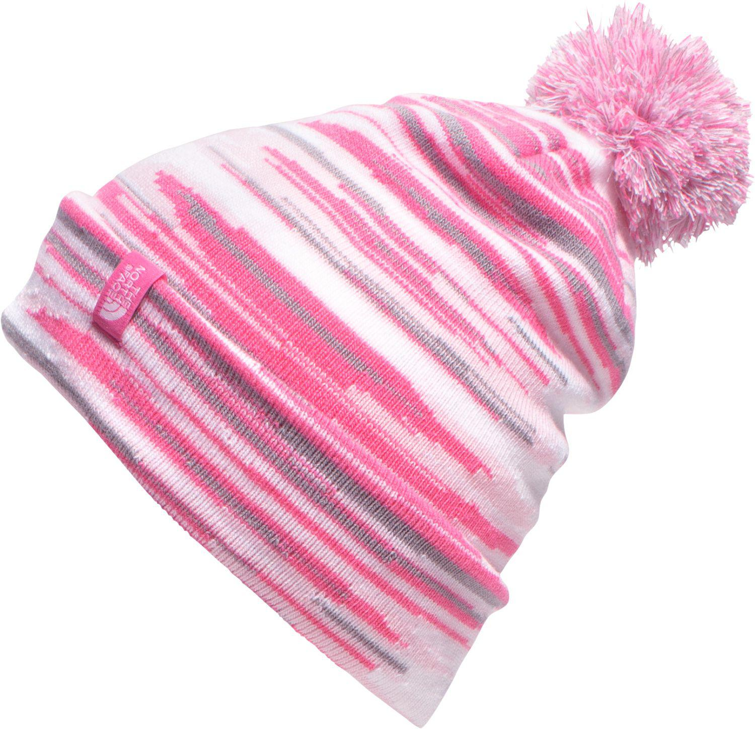 Lyst - The North Face Youth Ski Tuke Beanie in Pink 129570232dbf