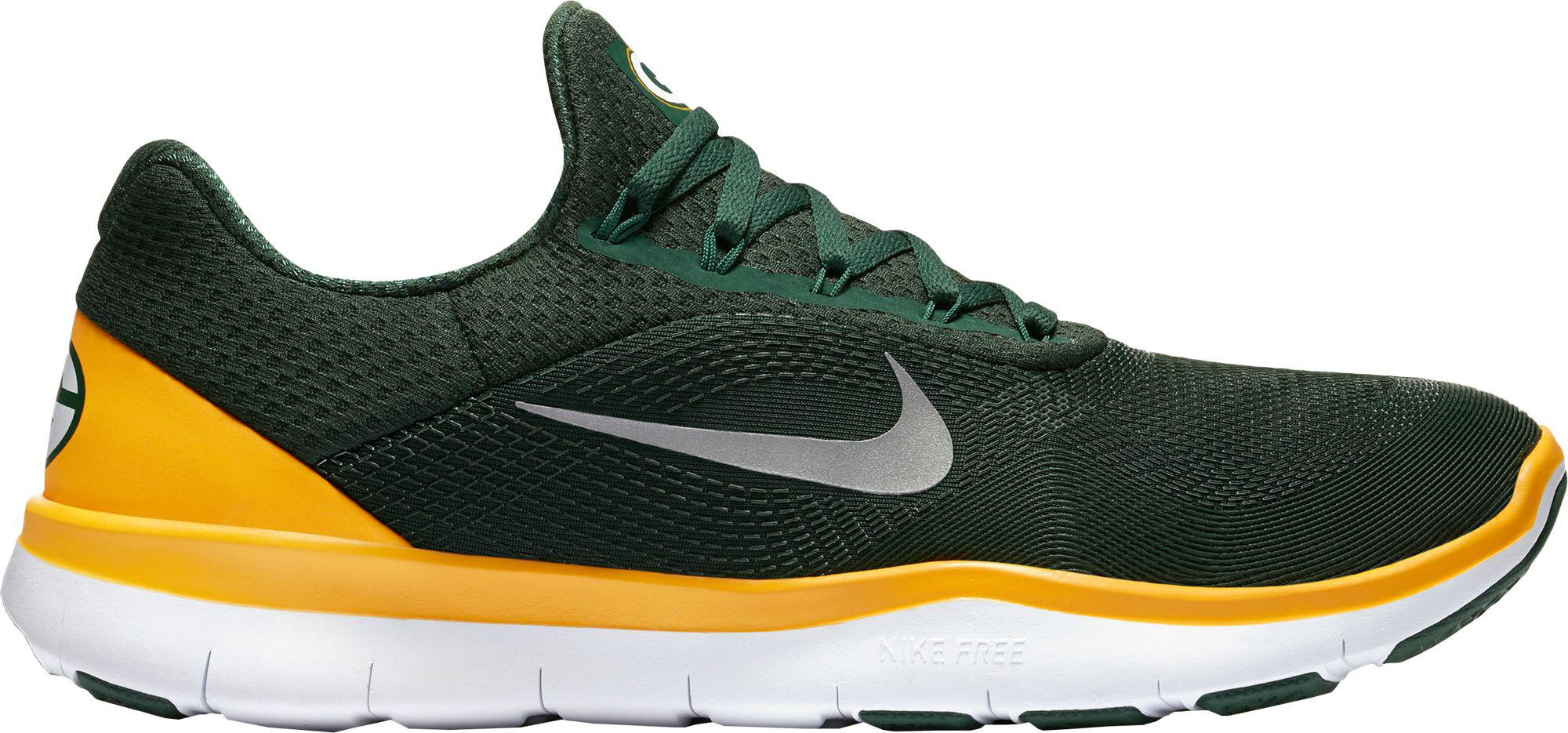 c1402507d4b3 ... usa nike green free trainer v7 nfl packers training shoes for men lyst  fec80 c8f9d