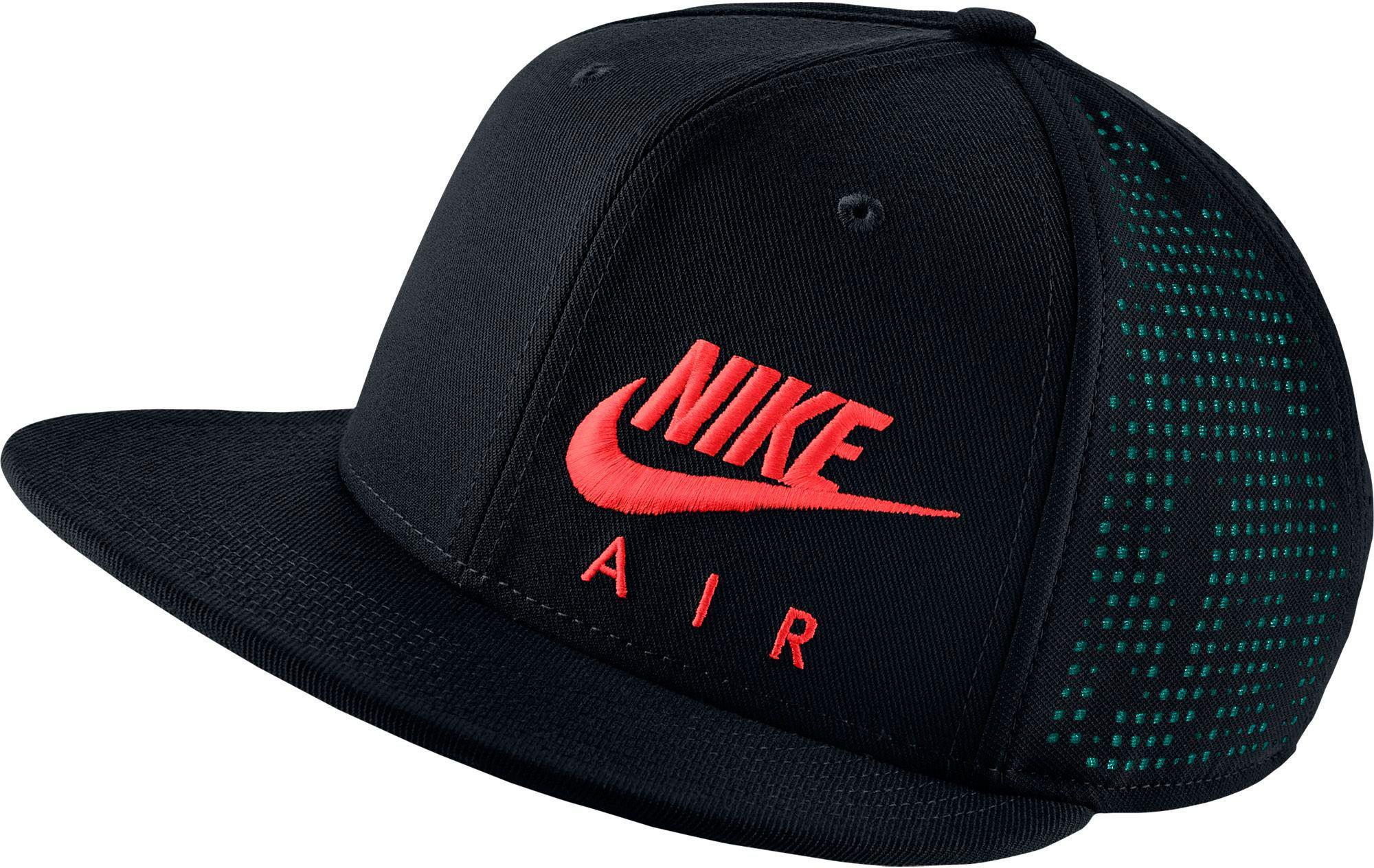 Lyst - Nike Air Hybrid True Adjustable Snapback Hat in Black for Men 4b48af159276