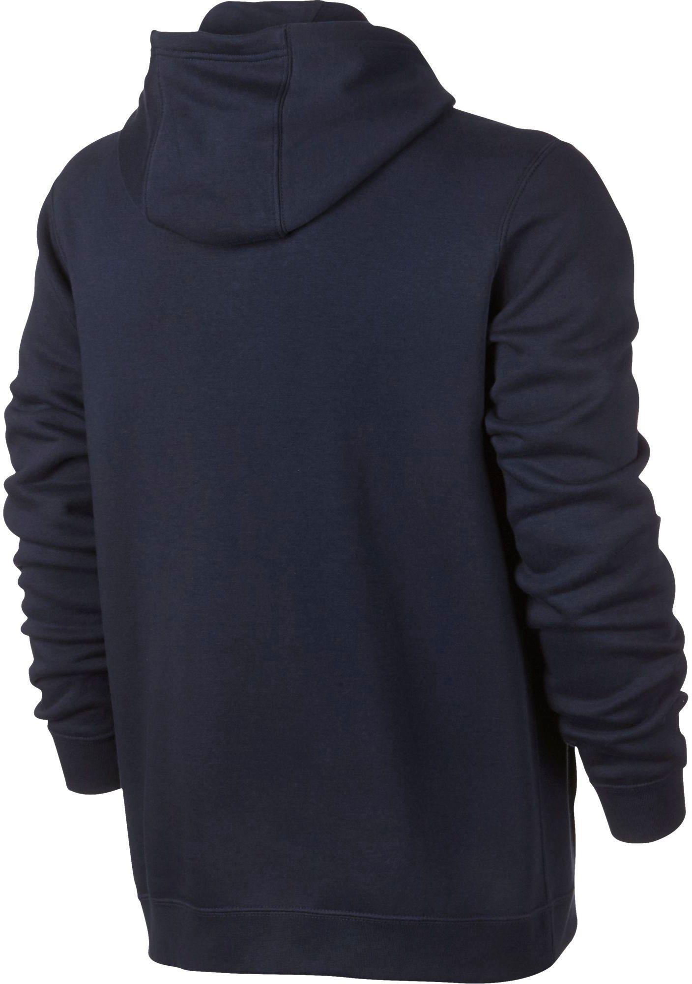 569460b2c7c3 Lyst - Nike Club Fleece Pullover Hoodie in Blue for Men