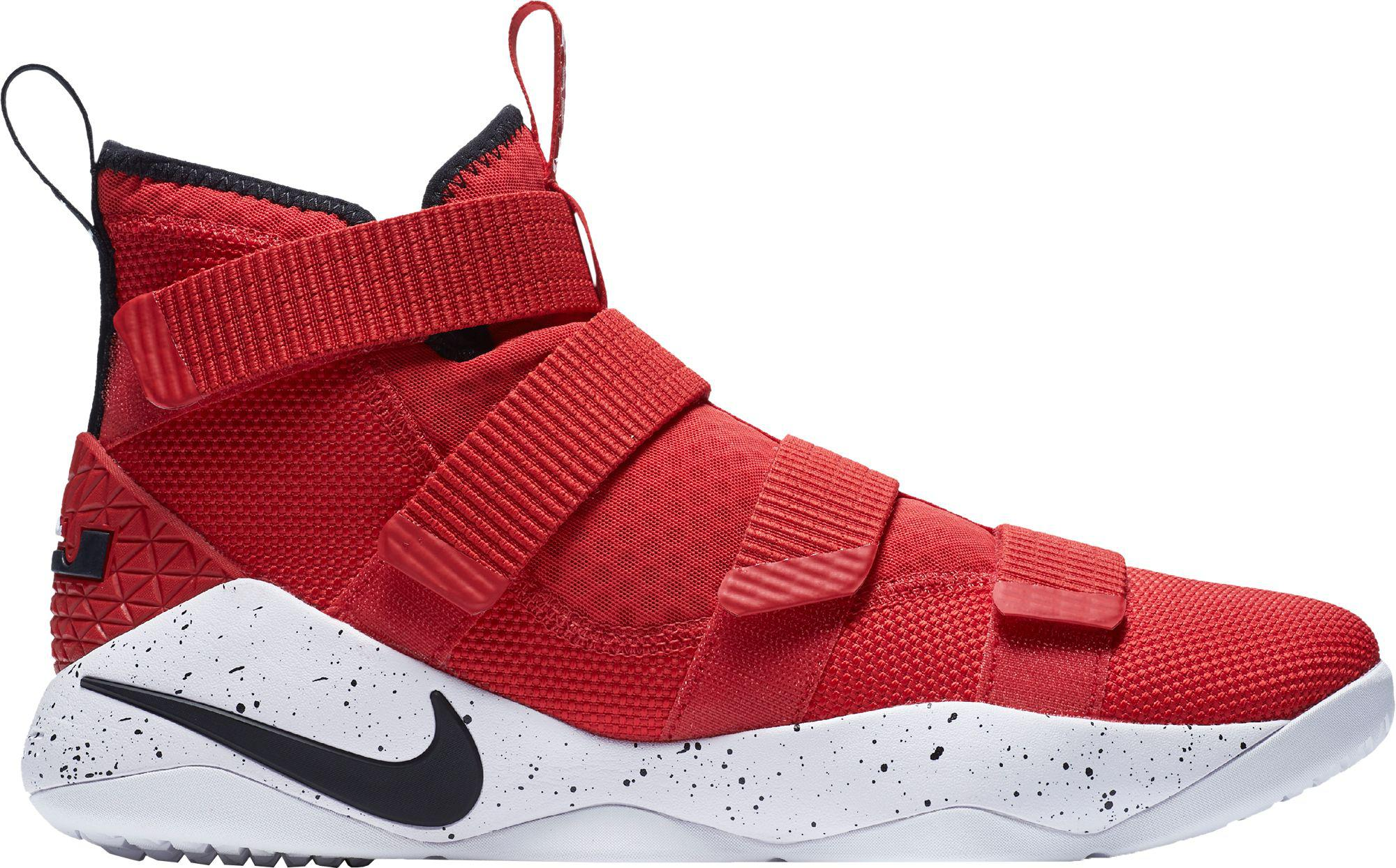 save off 72b44 e8f47 Nike - Red Zoom Lebron Soldier Xi Basketball Shoes for Men - Lyst