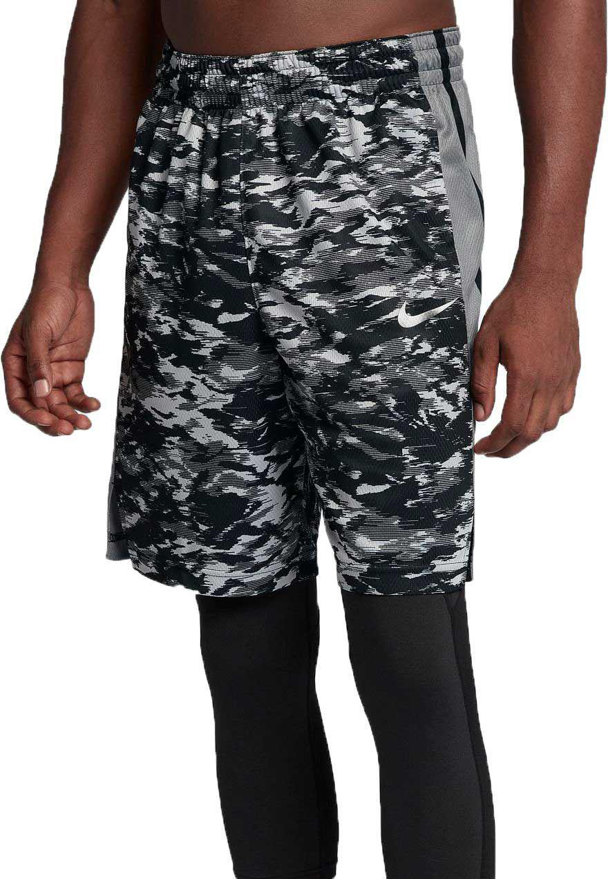 d4375692f9e9 Lyst - Nike Elite Stripe Plus Basketball Shorts in Gray for Men