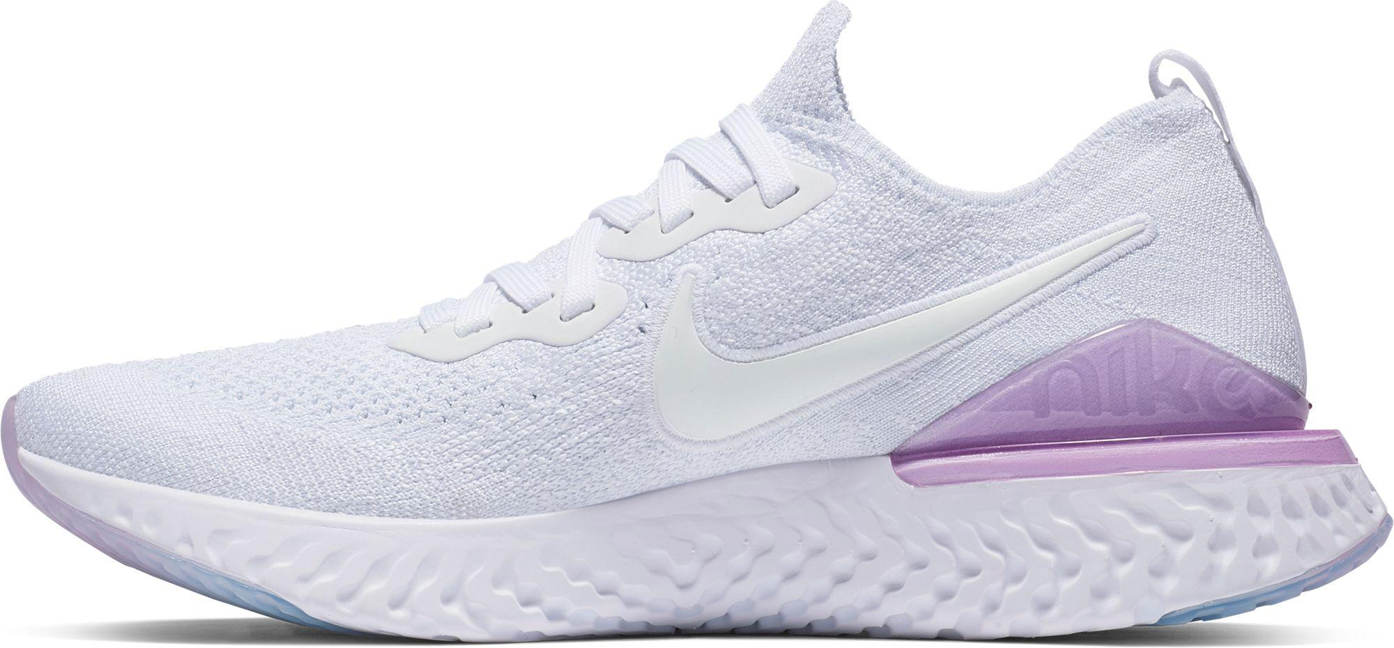 really cheap vast selection cheap for discount Nike Rubber Epic React Flyknit 2 Shoes - Size 6w in White/ White ...