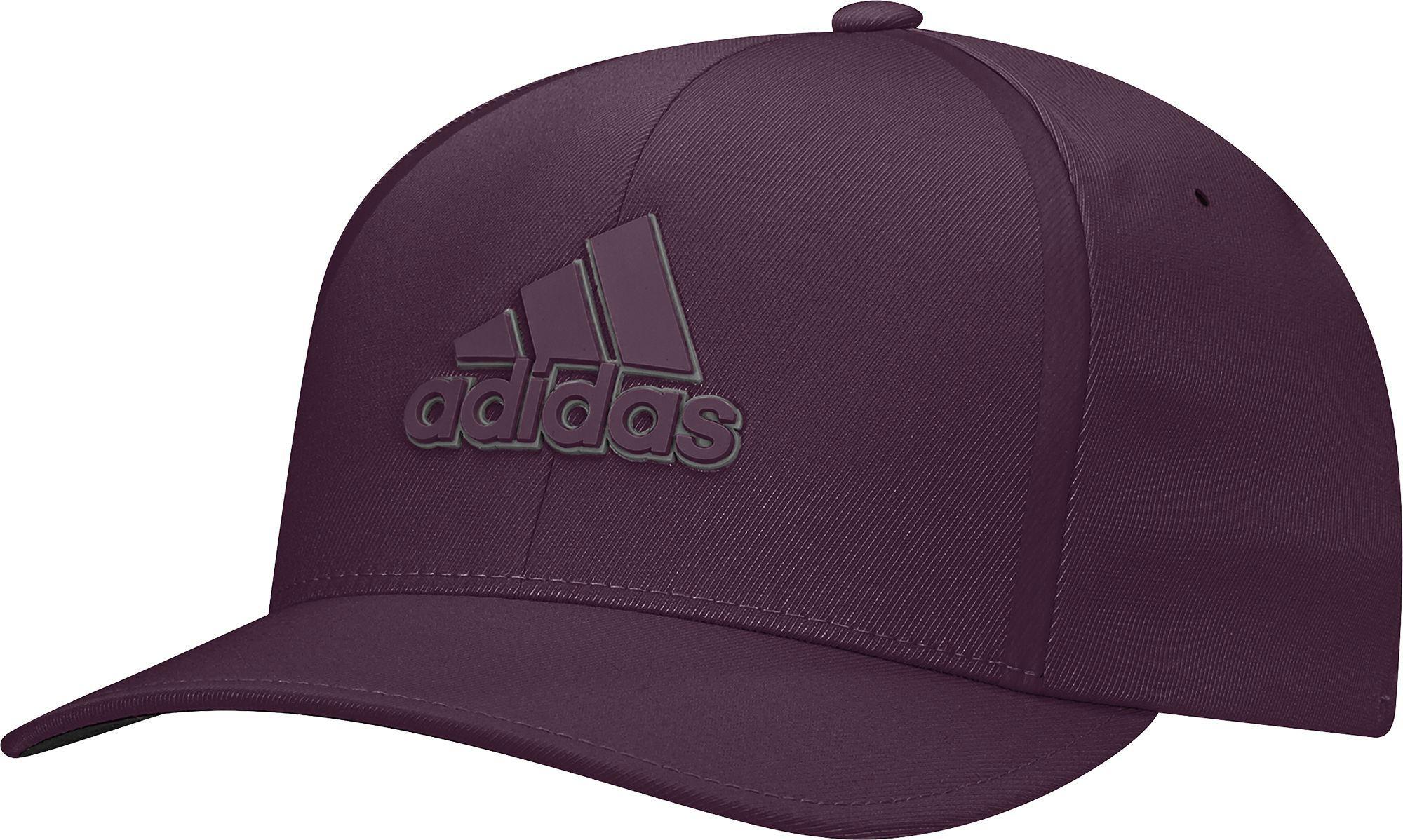 Lyst - adidas Tour Delta Textured Golf Hat in Purple for Men 6bb8d4dede60