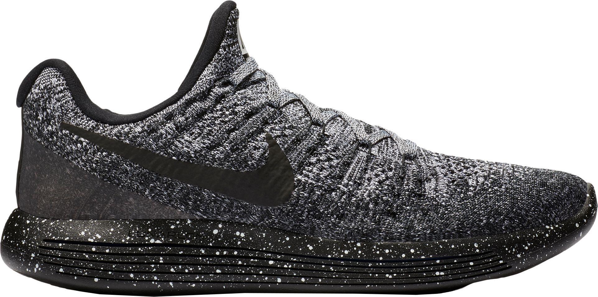 brand new 428ab 5e8f5 Men's Black Lunarepic Low Flyknit 2 Running Shoes