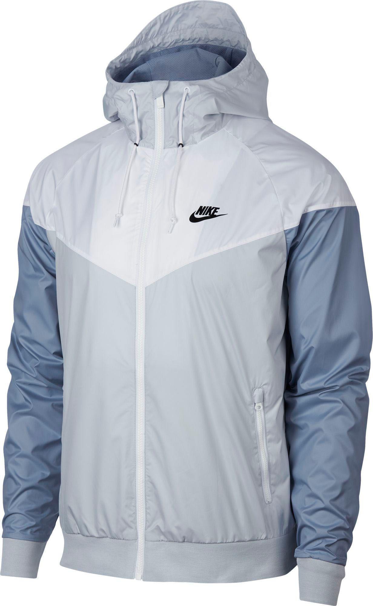 e41967ac6e6d Lyst - Nike Windrunner Full Zip Jacket in White for Men