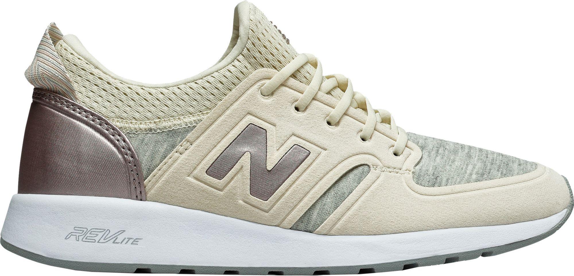 new balance beige 420 revlite trainers