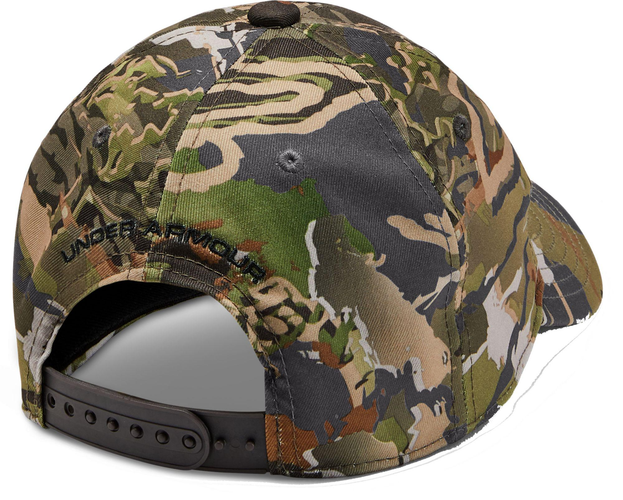 e636cbbc6 Under Armour Green Youth Camo Hat 2.0 for men