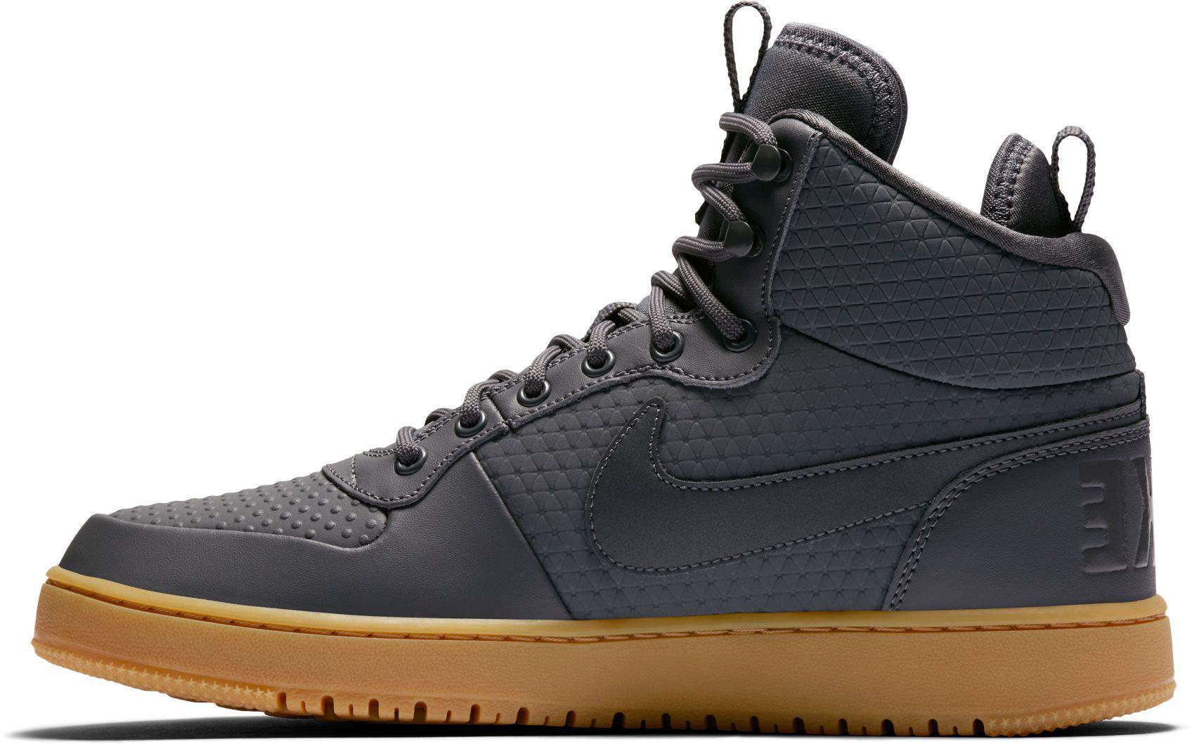 Nike Men's Court Borough Mid Winter Basketball Shoes