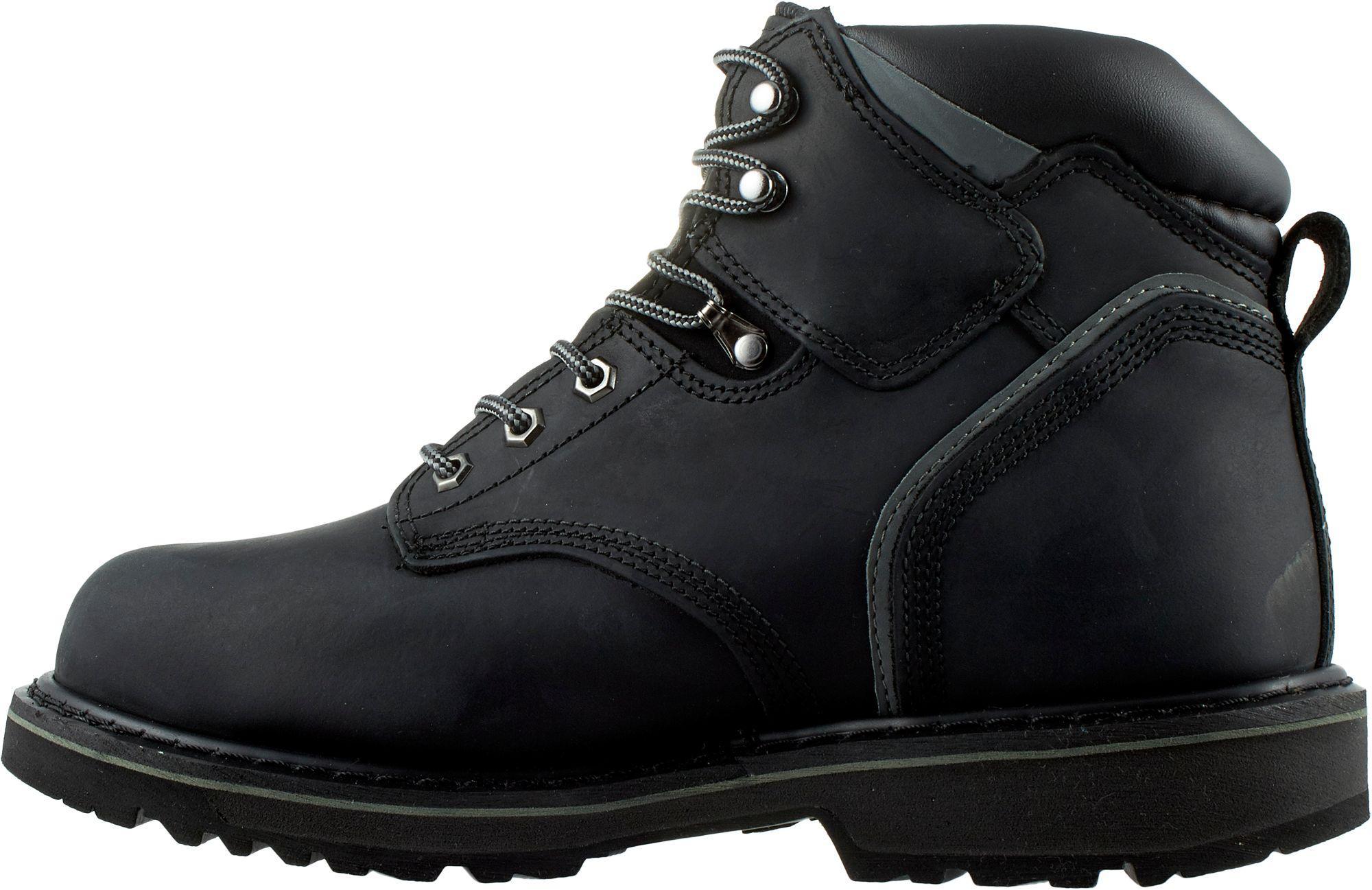 Pro Jobsite Steel Toe Work Boots