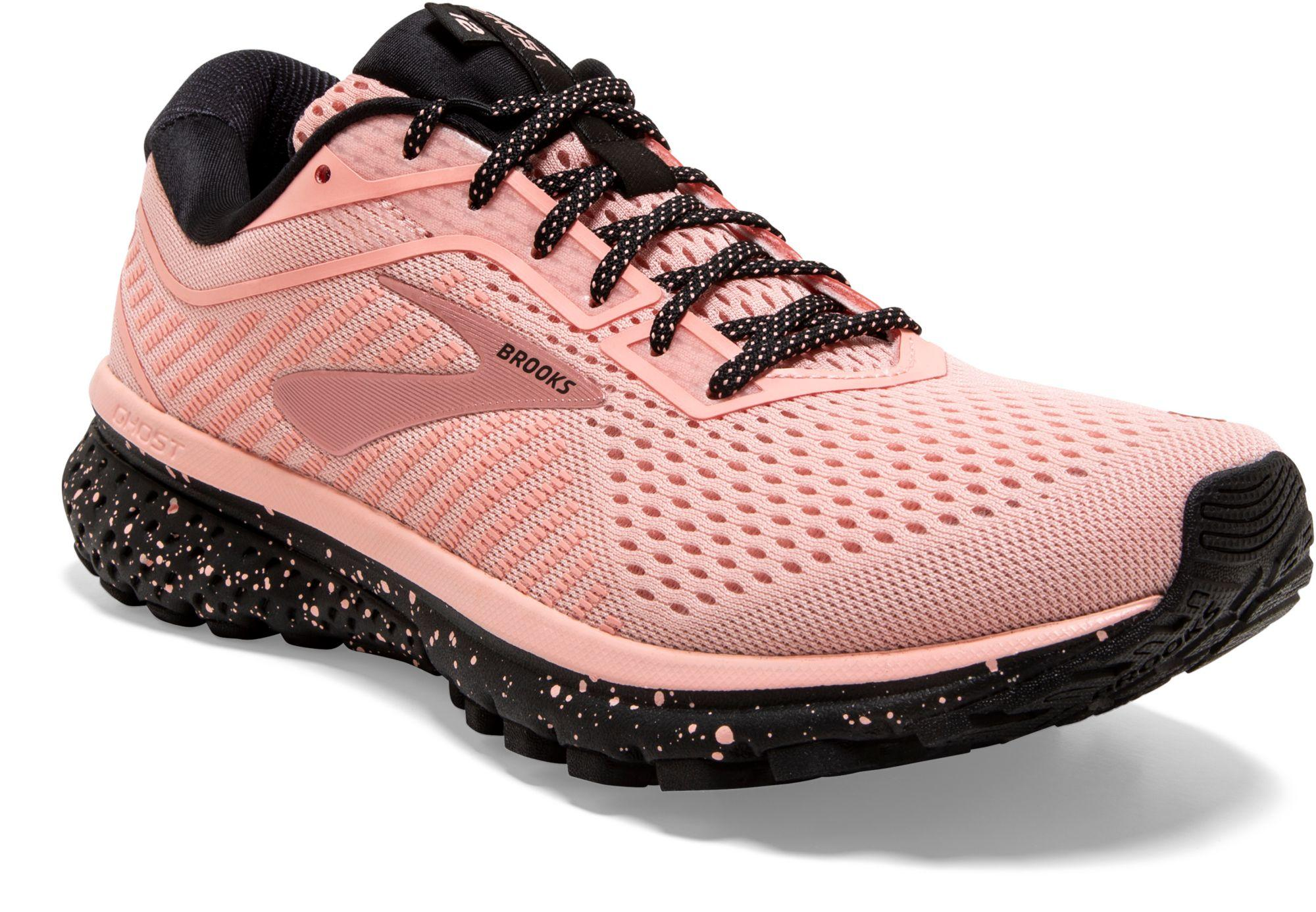 Brooks Ghost 12 Running Shoes in Pink