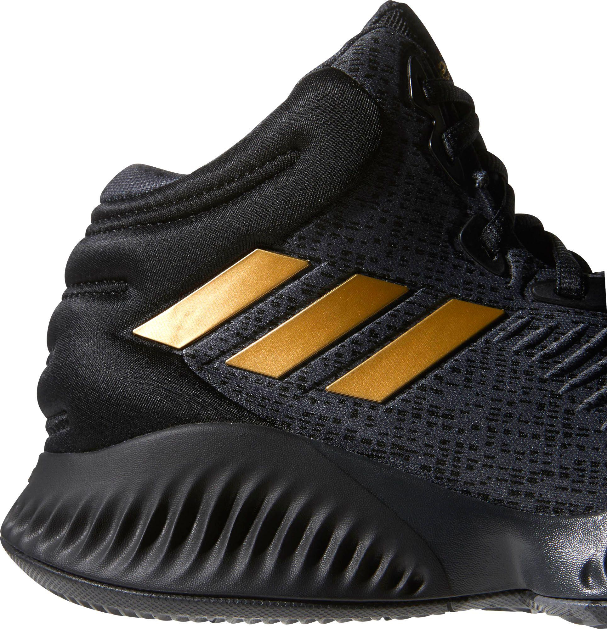 9d8651a3d8d adidas Mad Bounce 2018 Basketball Shoes in Black for Men - Lyst