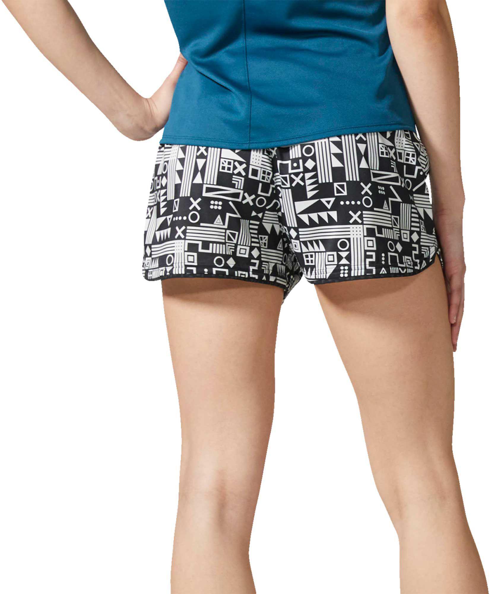wholesale dealer 43395 42eff Lyst - adidas Supernova Printed Glide Running Shorts in Black