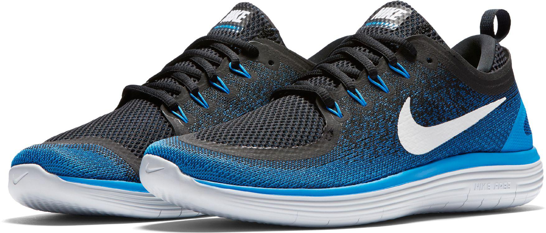 86098c51b37 Lyst - Nike Free Rn Distance 2 Running Shoes in Blue for Men