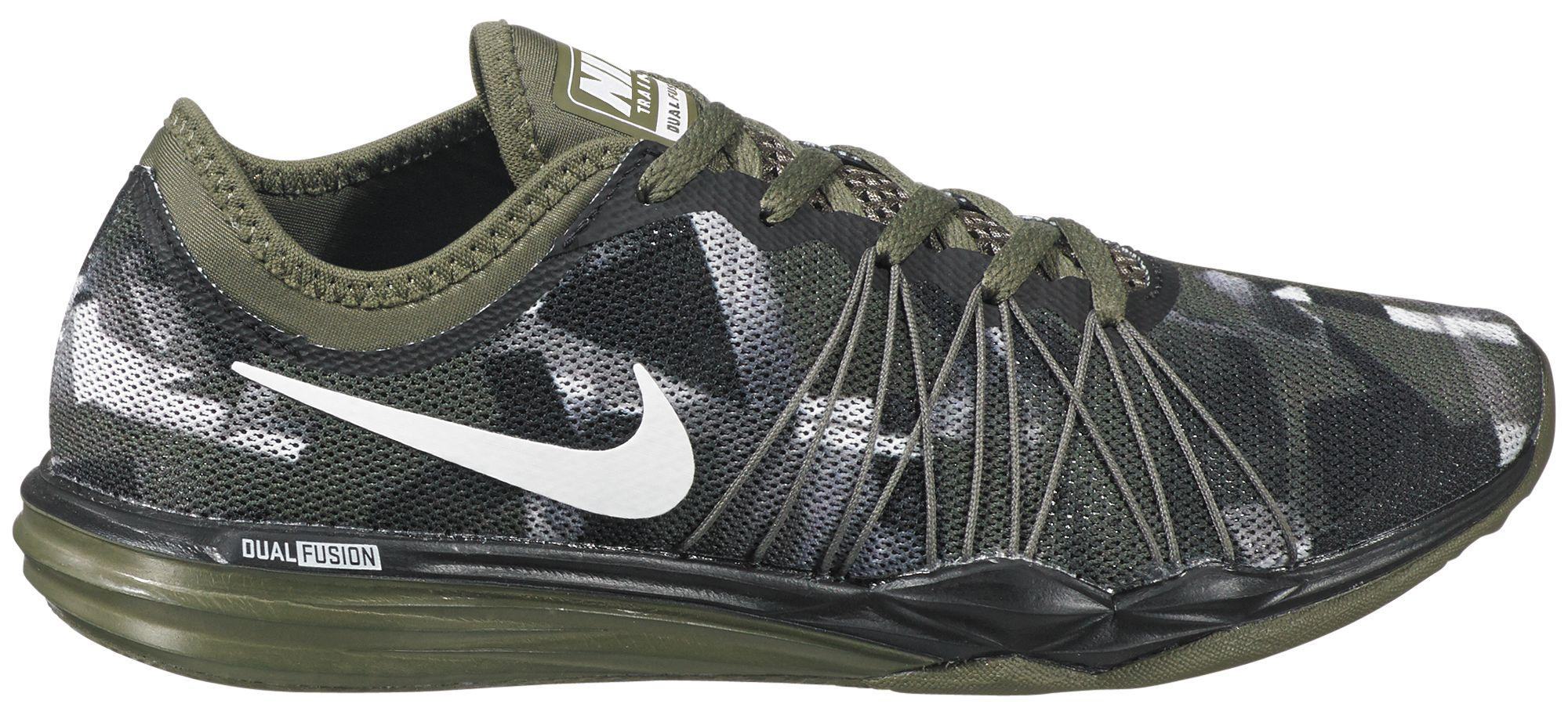 Nike | Green Dual Fusion Print Training Shoes for Men | Lyst