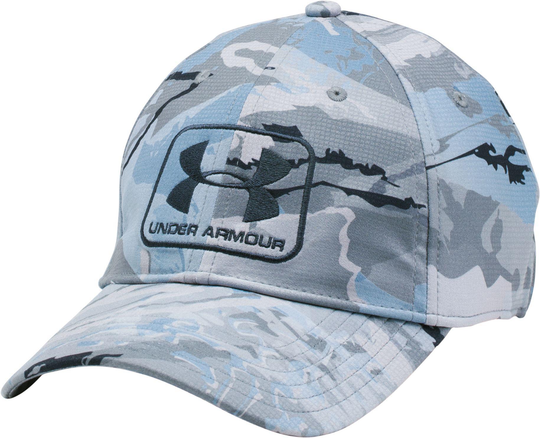 3d9a58063c2 ... uk lyst under armour camo stretch fit hat in blue for men 5e2b5 15e5e