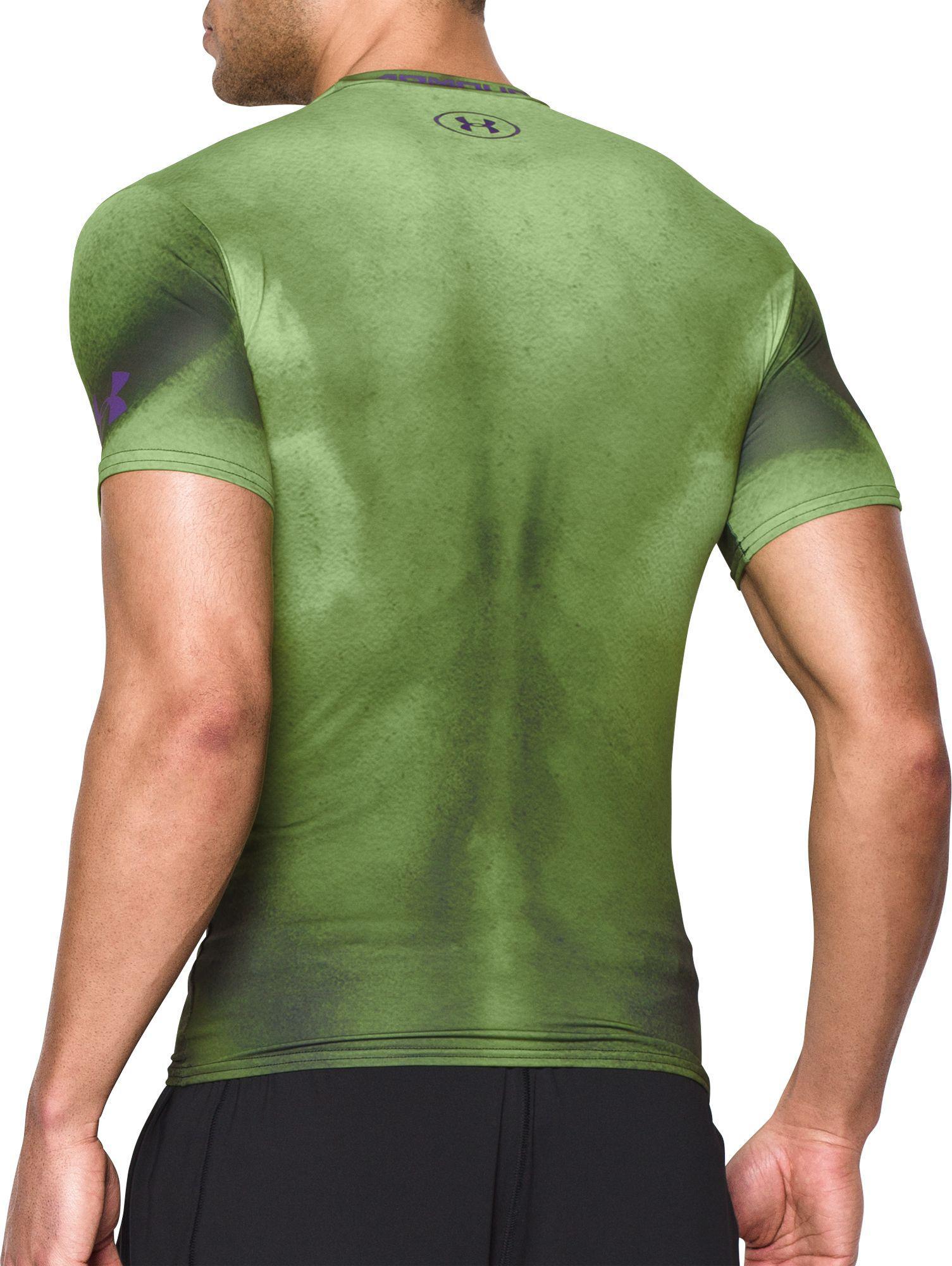 Lyst Under Armour Alter Ego Hulk Compression T Shirt In