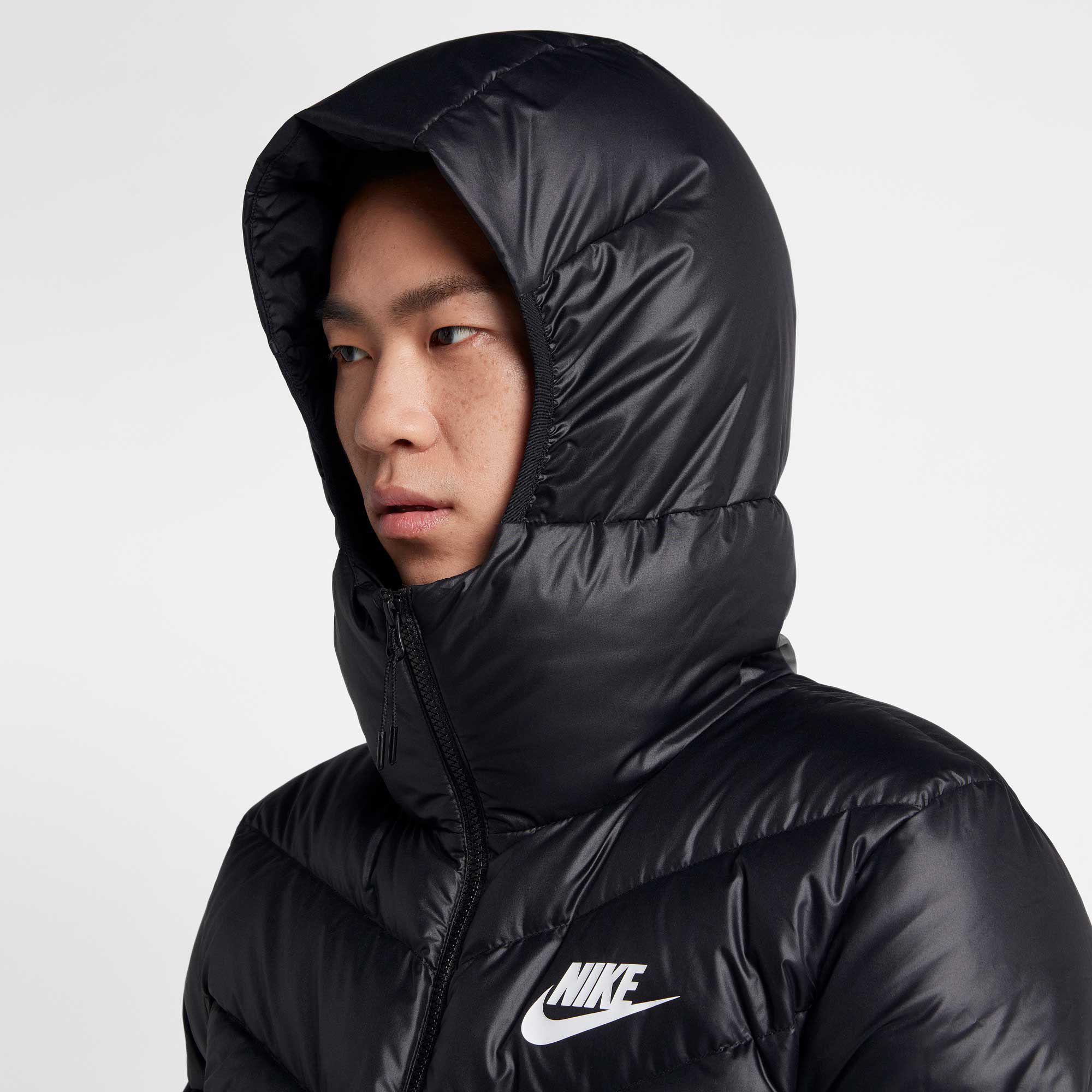nike sportswear windrunner down fill jacket