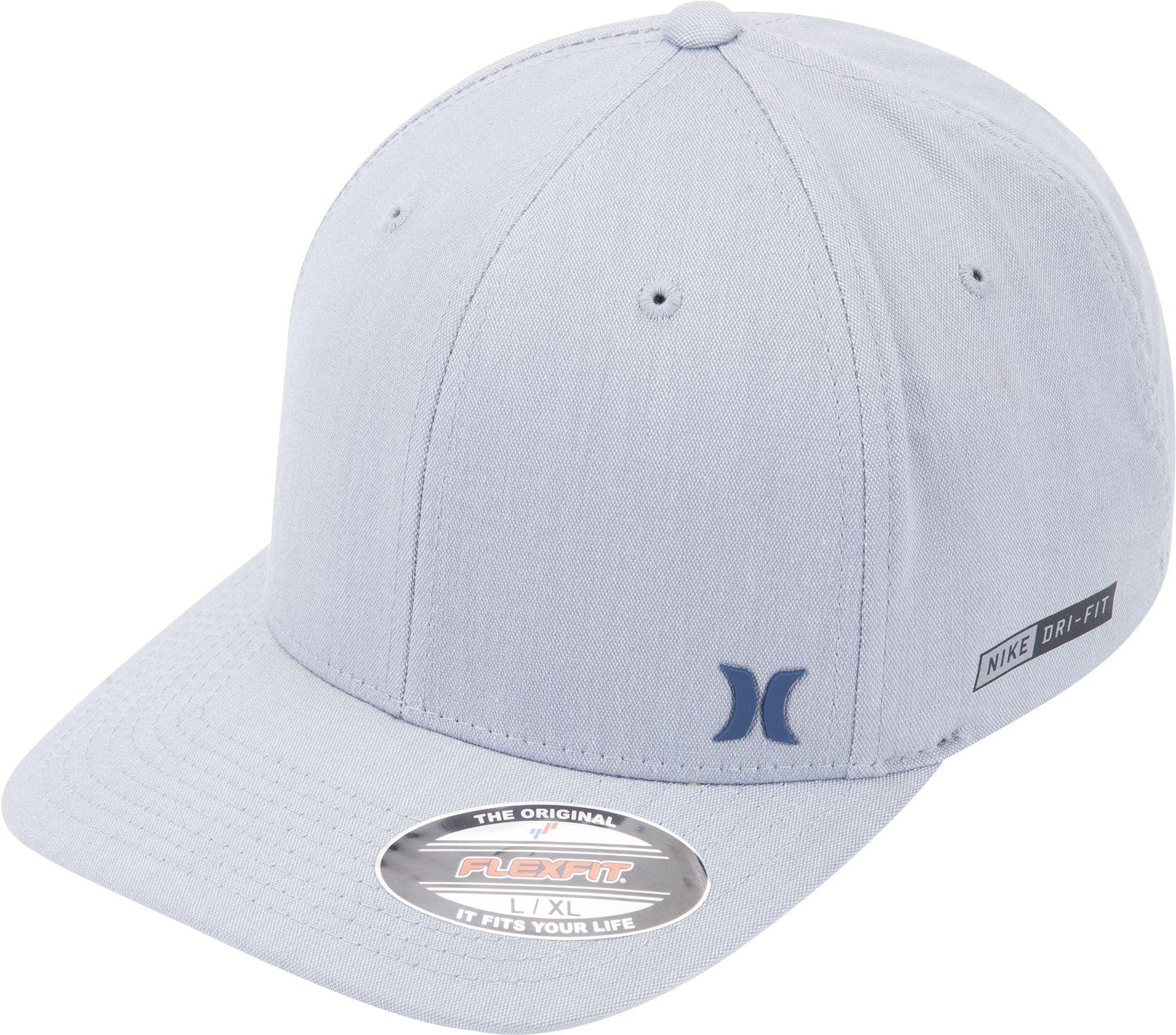 low priced b92bf b9be5 ... coupon code for lyst hurley dri fit flow flexfit hat in gray for men  2d40e 9c66d
