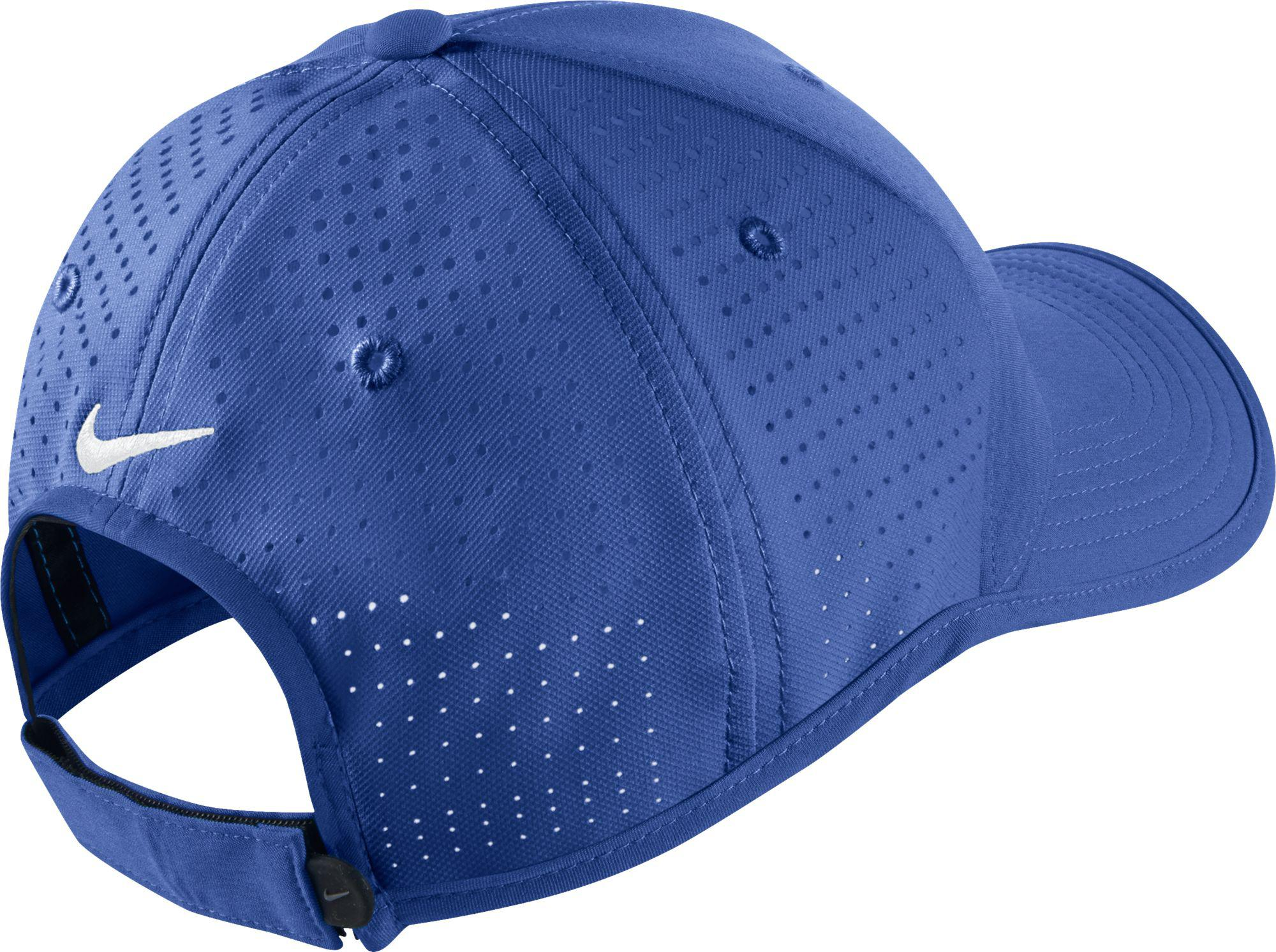Lyst - Nike Tiger Woods Ultralight Tour Golf Hat in Blue for Men dfd86f9b660