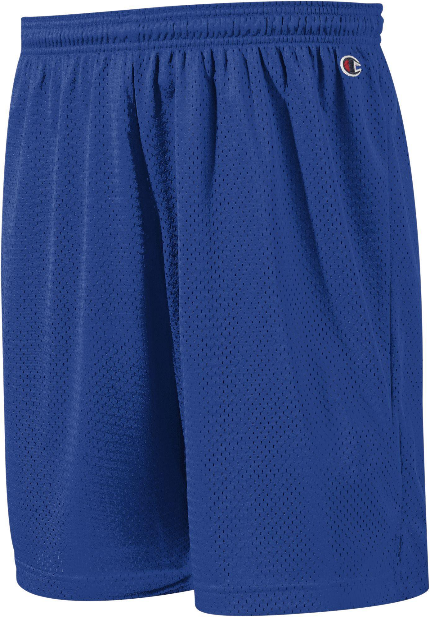 a2b9f0f49e Champion Pocketless Mesh 9'' Shorts in Blue for Men - Lyst