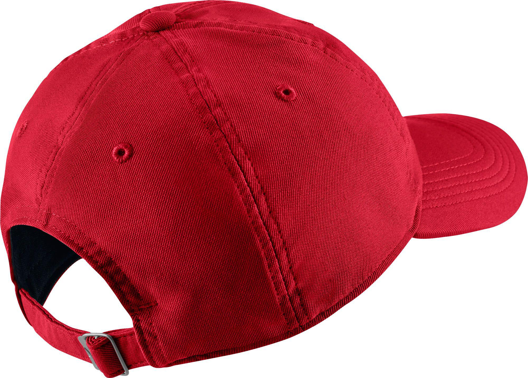 8196f02e8a8 Lyst - Nike Twill H86 Adjustable Hat in Red for Men