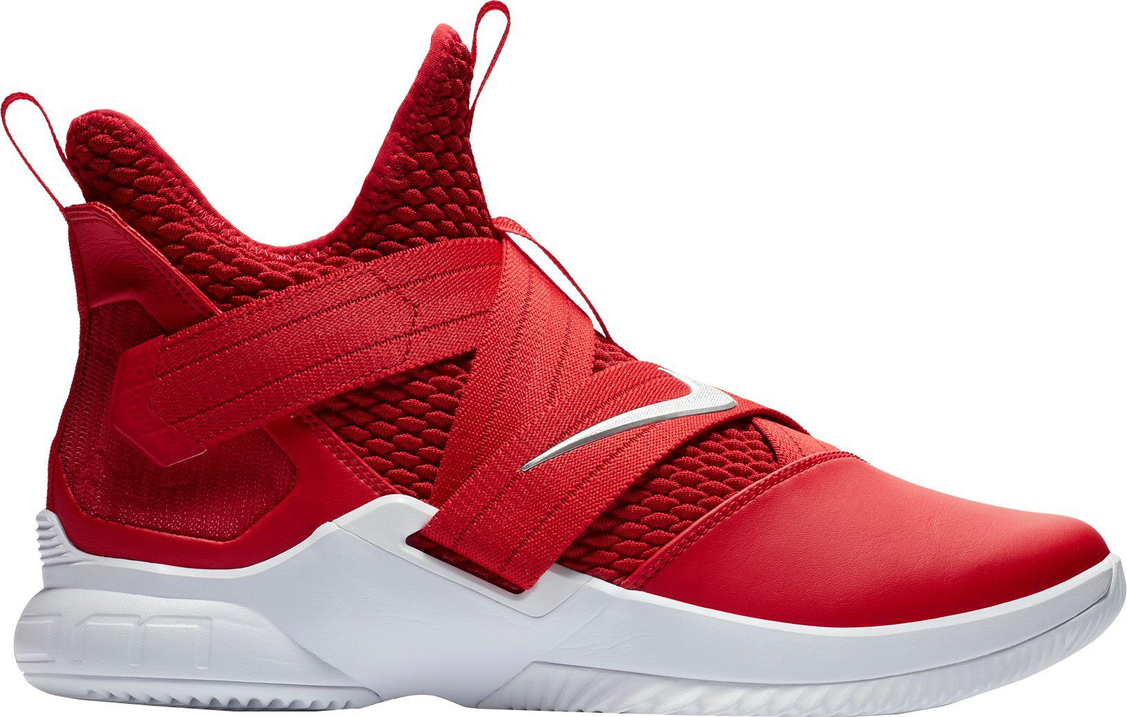 more photos 3eb56 bf1e5 Nike Red Zoom Lebron Soldier Xii Tb Basketball Shoes for men