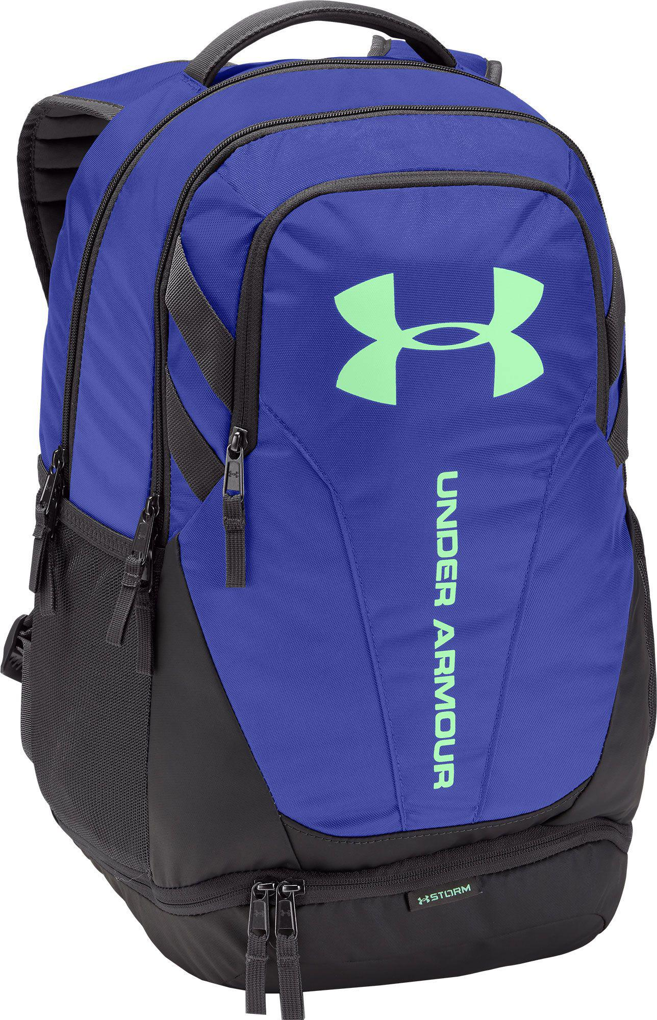 Lyst - Under Armour Hustle 3.0 Backpack in Purple for Men d79720418ed72