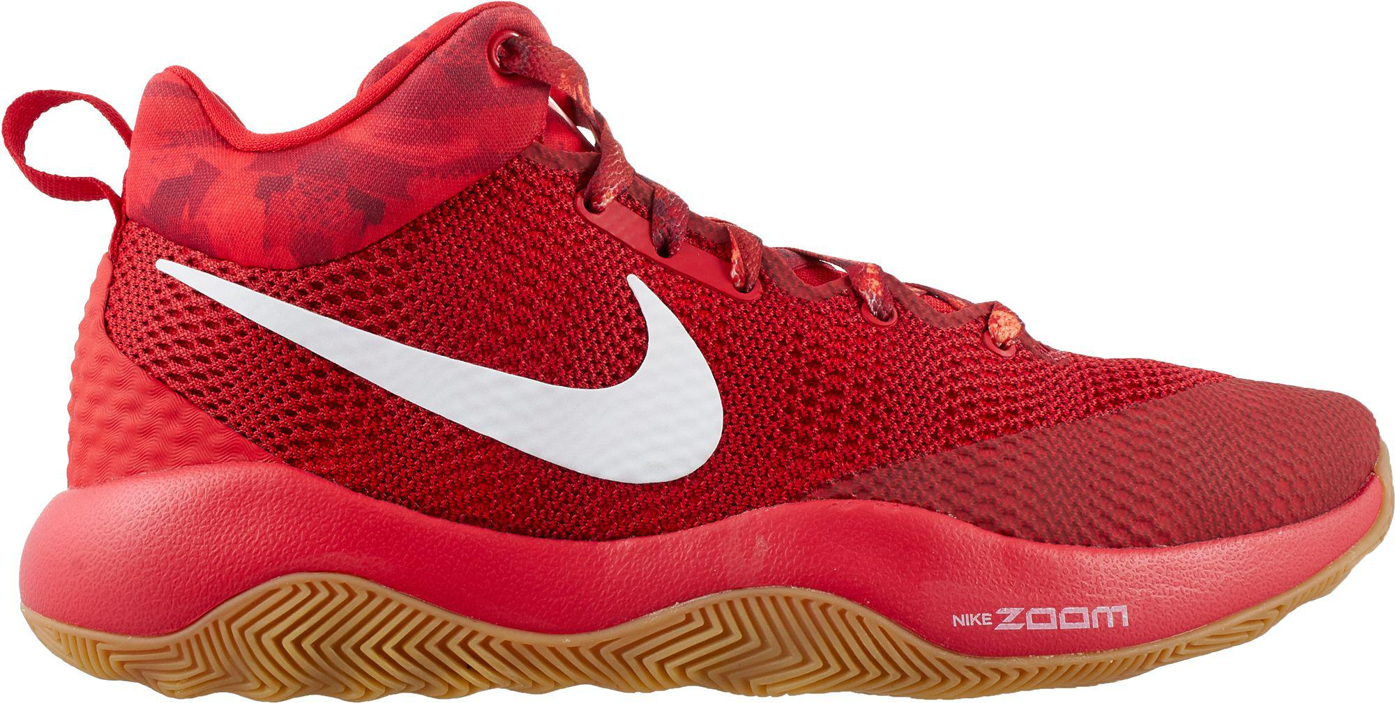 073f95a336b6 Lyst - Nike Zoom Rev 2017 Basketball Shoes in Red for Men