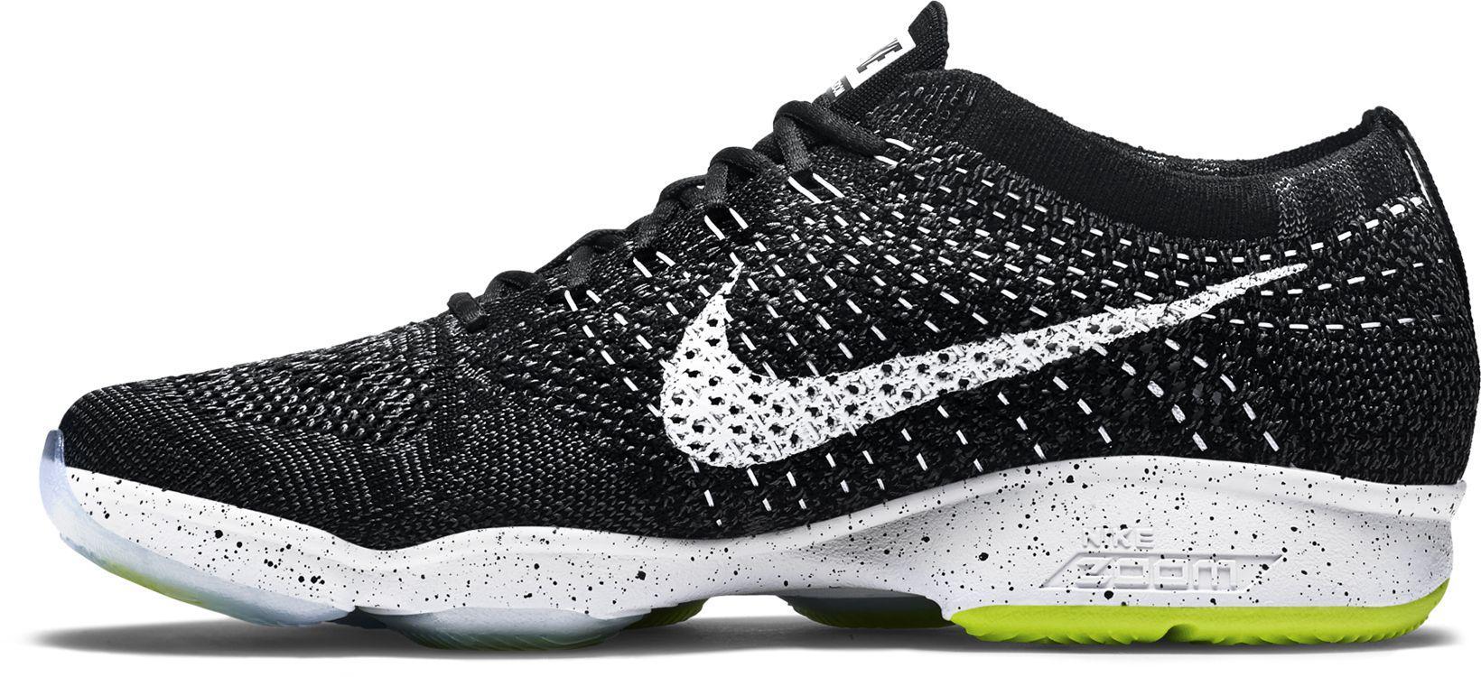 Corta vida Moler curva  Nike Rubber Flyknit Zoom Fit Agility Training Shoes for Men - Lyst